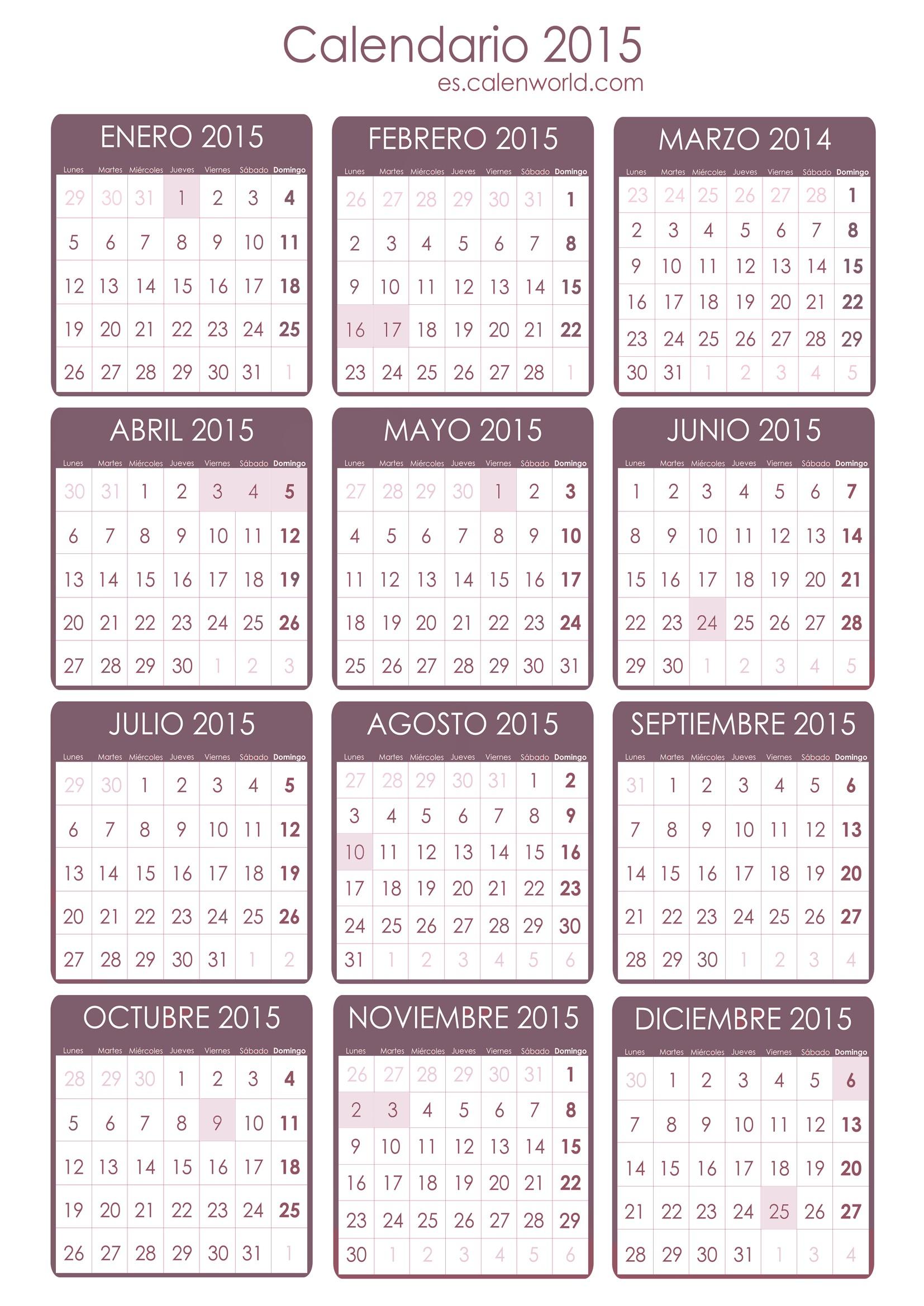 calendario de feriados en ecuador 2015 calendarios