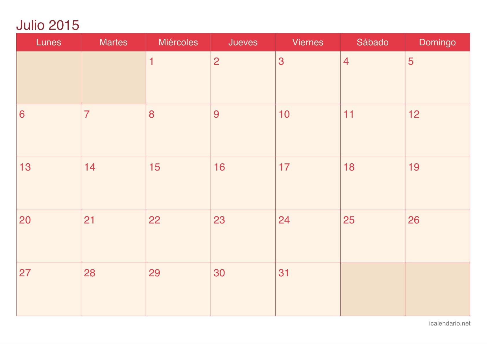 Calendario Para Imprimir 2017 Venezuela Mejores Y Más Novedosos Calendario Julio 2015 Calendario Julio 2015 Elhc Pescaalcurrican Of Calendario Para Imprimir 2017 Venezuela Mejores Y Más Novedosos Sunavi