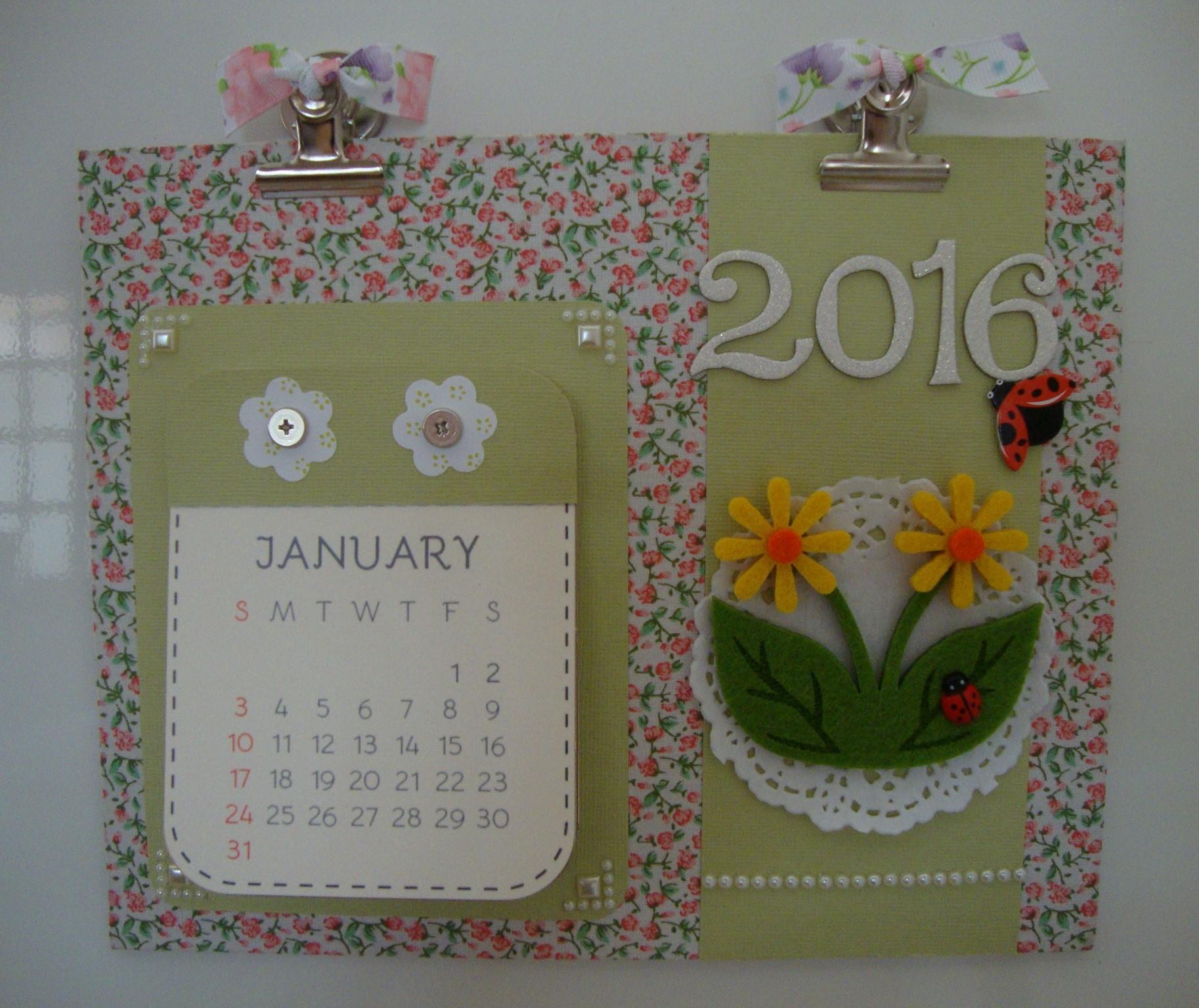 calendario 201 calendario flores