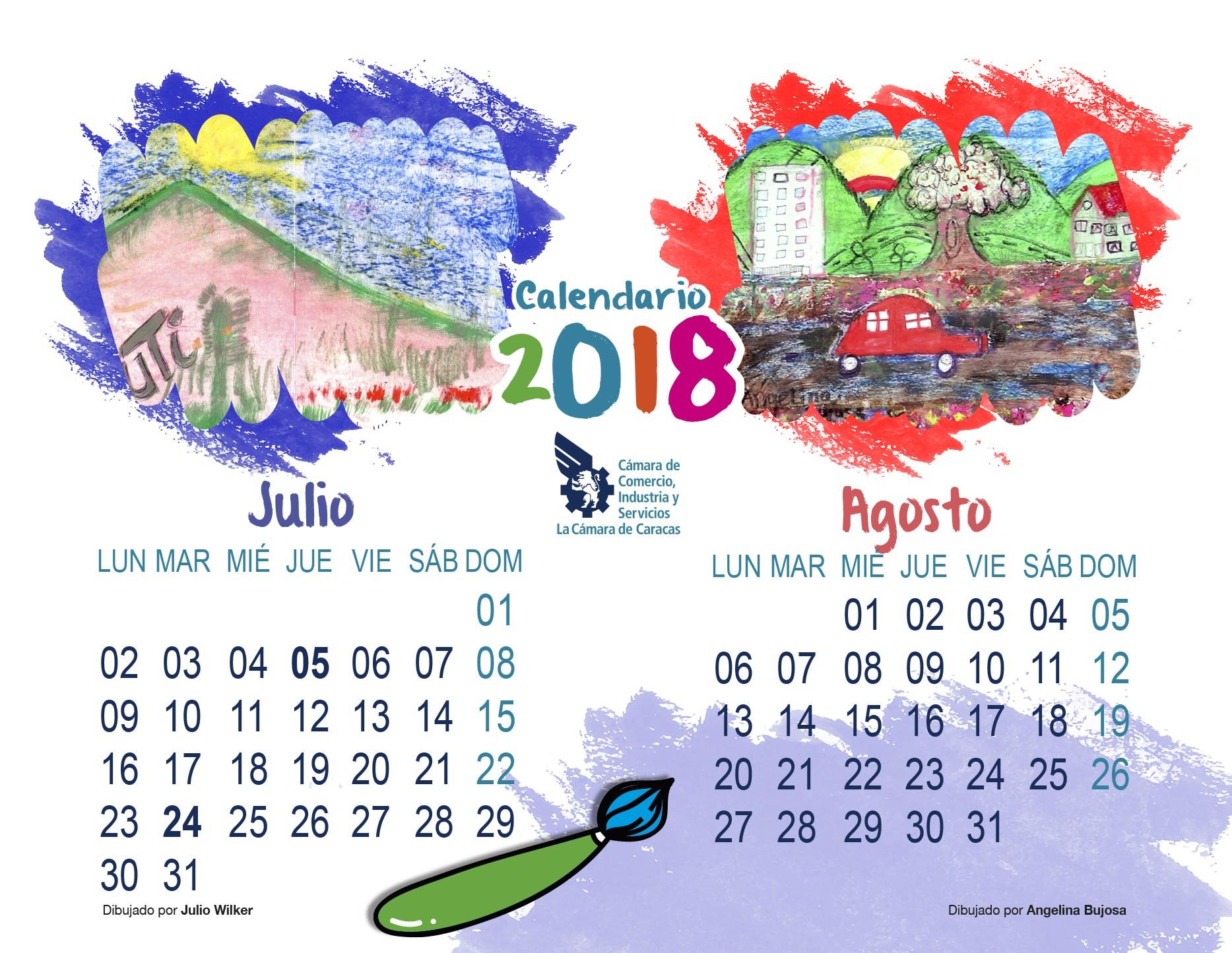 Calendario Para Imprimir Agosto Y Septiembre 2017 Actual Descarga Nuestro Calendario 2018 Cámara De Caracas