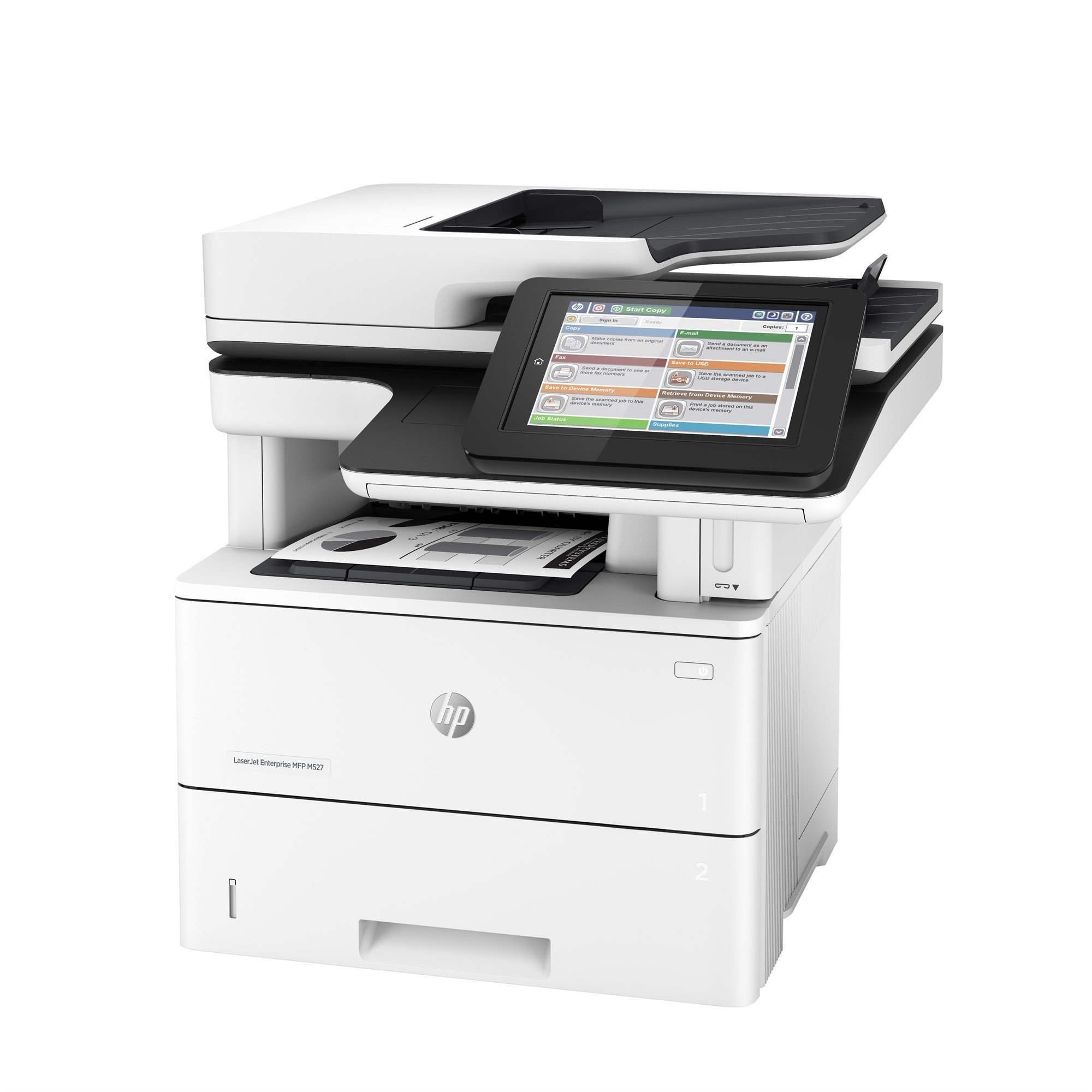 HP LaserJet Impresora multifuncion Enterprise Flow M527c