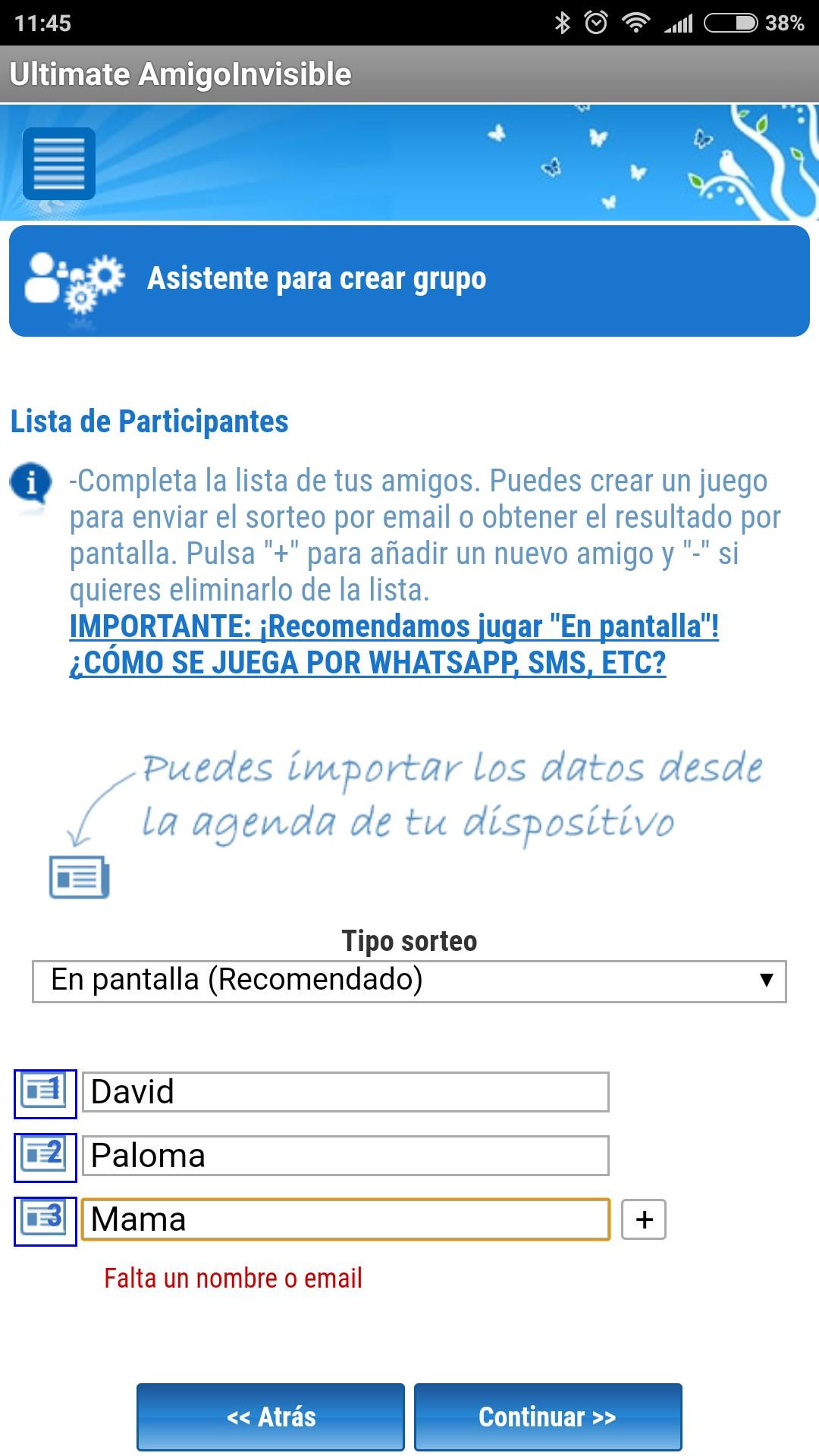 Calendario de Adviento da 5 App para organizar el amigo
