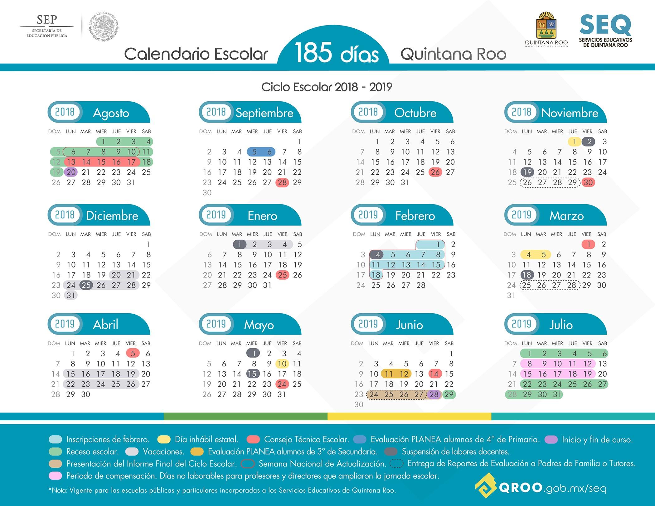 Calendario Septiembre 2019 Mexico Para Imprimir Más Reciente Calendario Escolar 2018 2019 Of Calendario Septiembre 2019 Mexico Para Imprimir Más Recientes Se Abren Las Postulaciones Para La Escuela De Sistemas Plejos