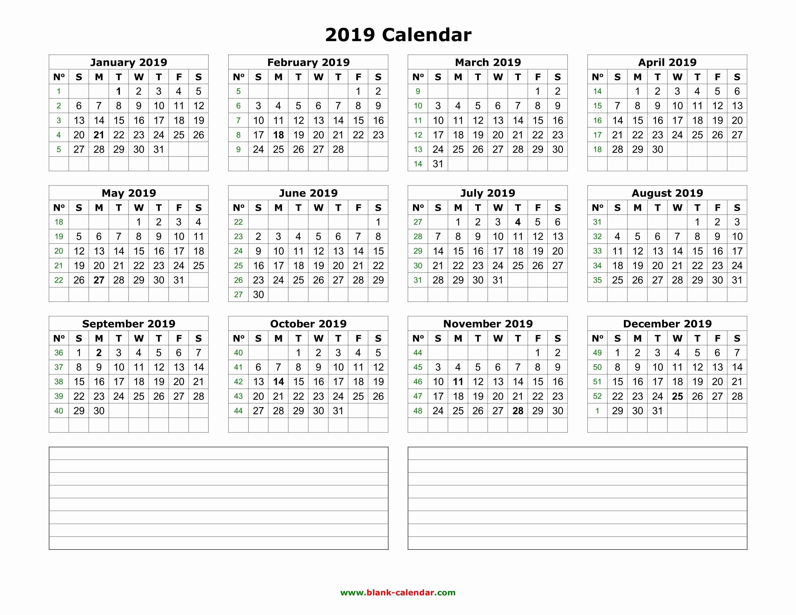 Ms Excel Calendar 2019 Monthly Calendar Schedule Template Excel Best 12 Month Blank Ms Excel