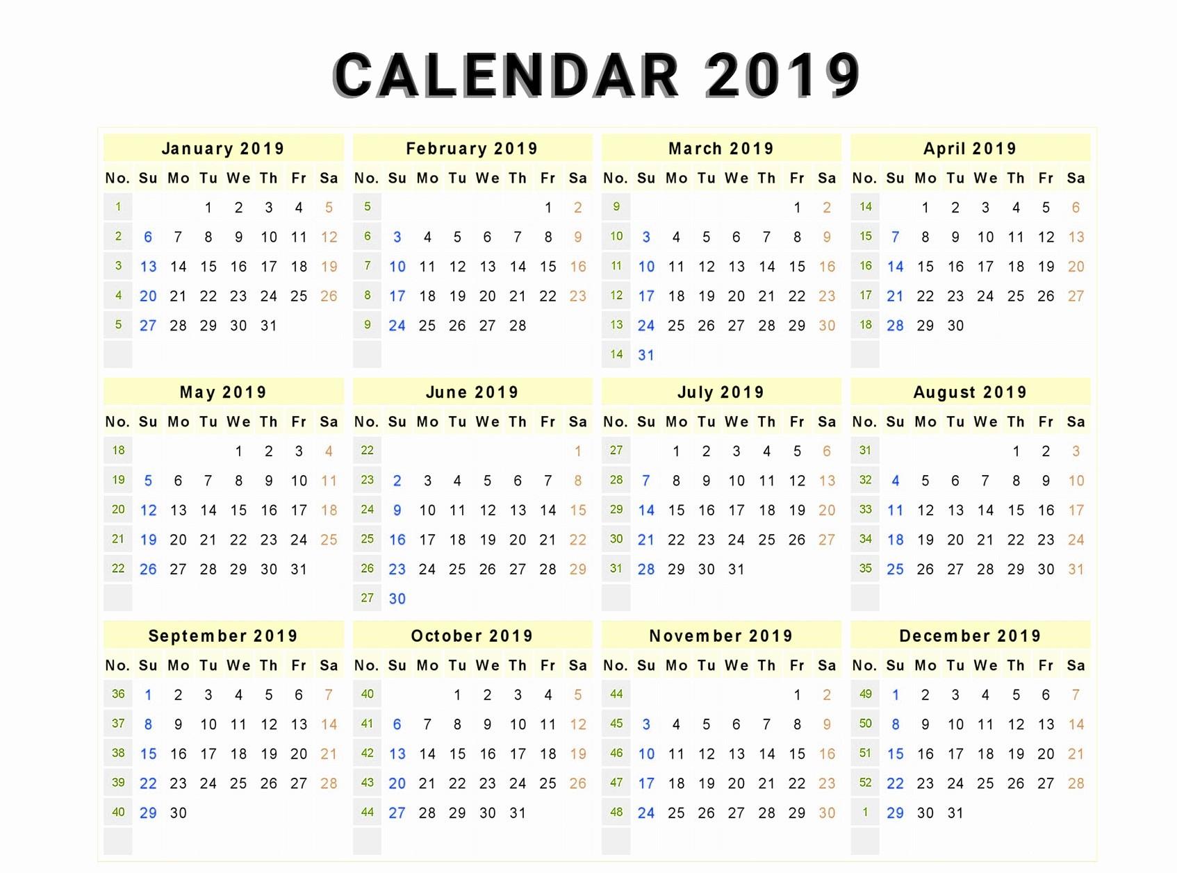 Download Kalender islam 2019 Pdf Más Recientemente Liberado Free Yearly Editable 2019 Calendar Pdf Template Of Download Kalender islam 2019 Pdf Más Reciente Download Free Bank Holiday 2019 Usa Calendar Templates [pdf