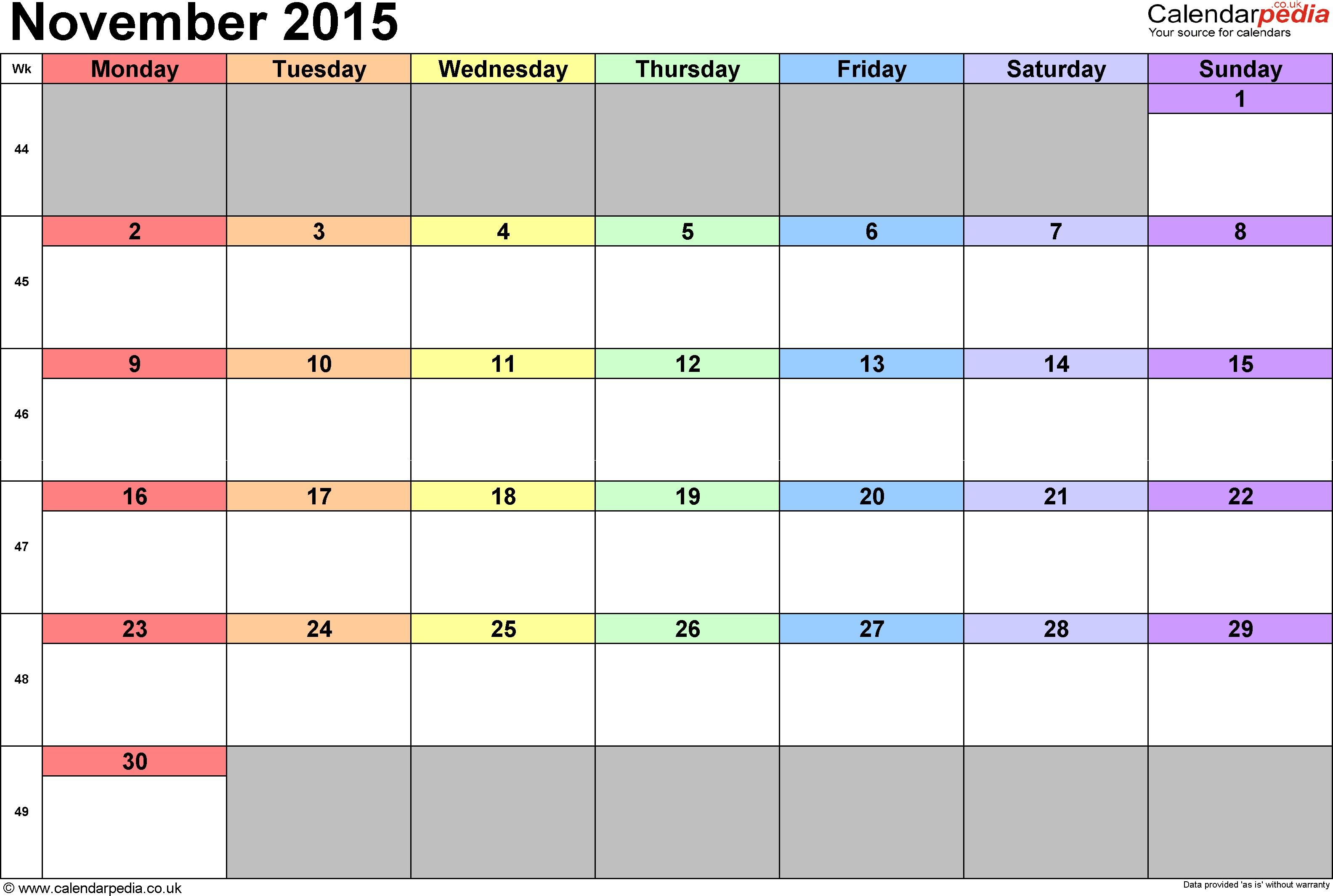 Imprimir Calendario En Word Más Recientes Calendar November 2015 with Holidays Kordurorddiner Of Imprimir Calendario En Word Más Actual Juillet 2018 Calendrier Imprimable Gratuit