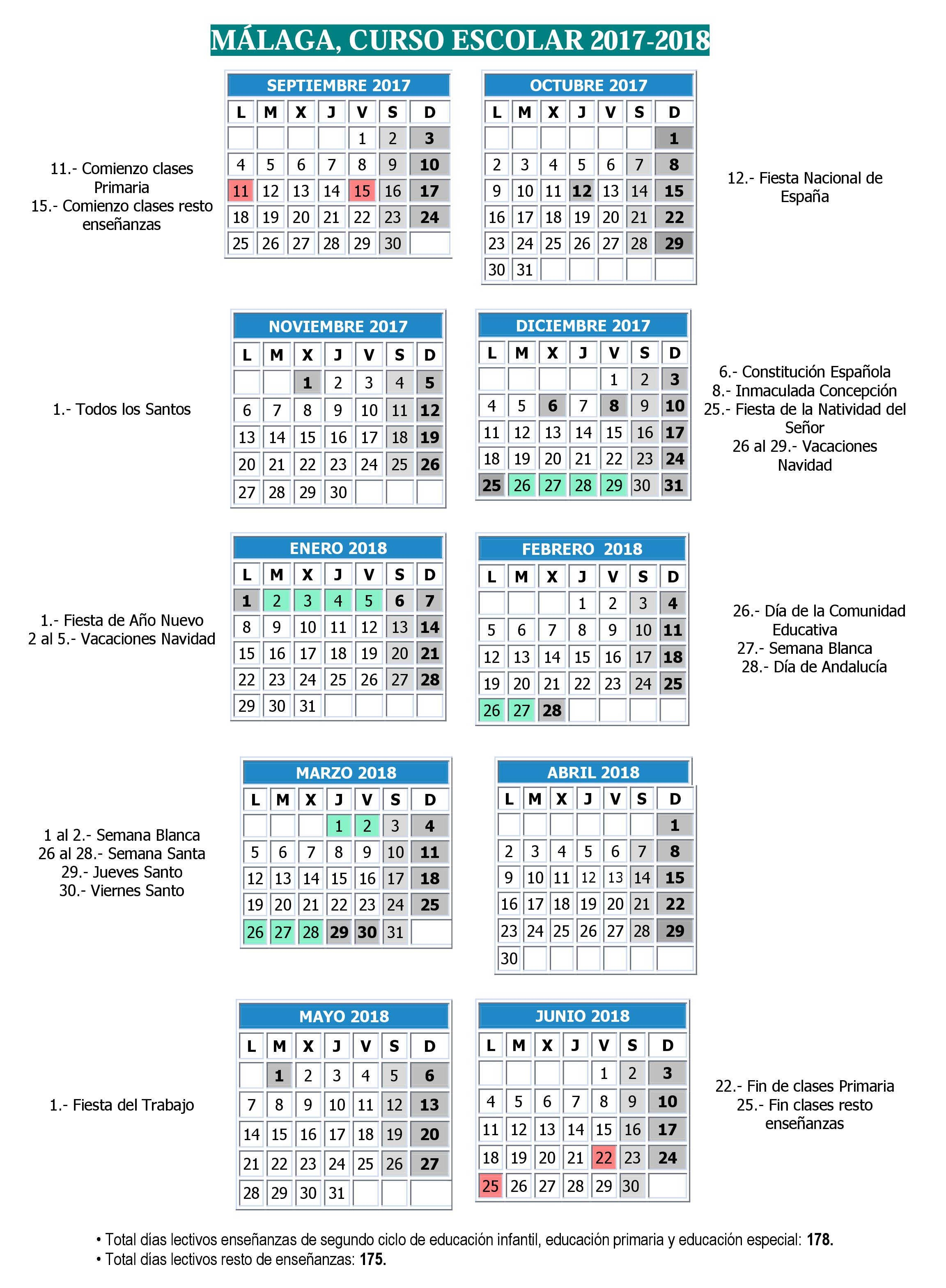 Imprimir Calendario Escolar 2017 Y 2019 Sep Actual Calendario Escolar Málaga 2017 2018 La Diversiva Gu­a De Ocio Of Imprimir Calendario Escolar 2017 Y 2019 Sep Más Recientes Instituto Tecnol³gico De Gustavo A Madero