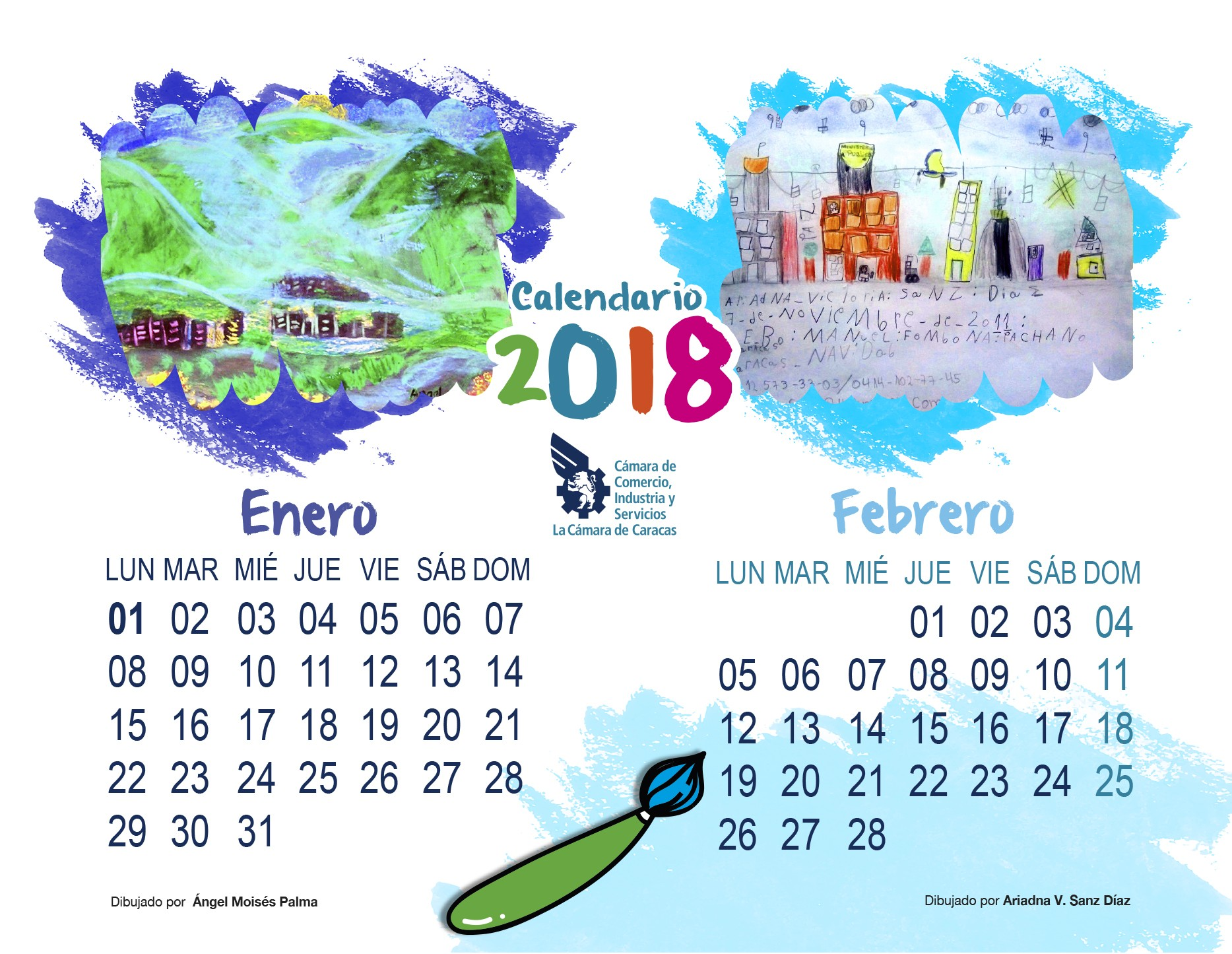 Imprimir Calendario Febrero Y Marzo 2019 Recientes Descarga Nuestro Calendario 2018 Cámara De Caracas Of Imprimir Calendario Febrero Y Marzo 2019 Actual 2019 2018 Calendar Printable with Holidays List Kalender Kalendar