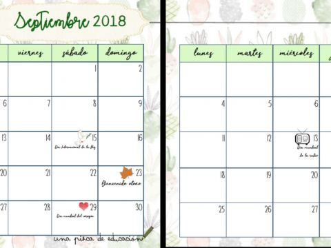 Calendario 2019 Julio Agosto Y Septiembre.Imprimir Calendario Septiembre Y Octubre 2018 Calendario 2019