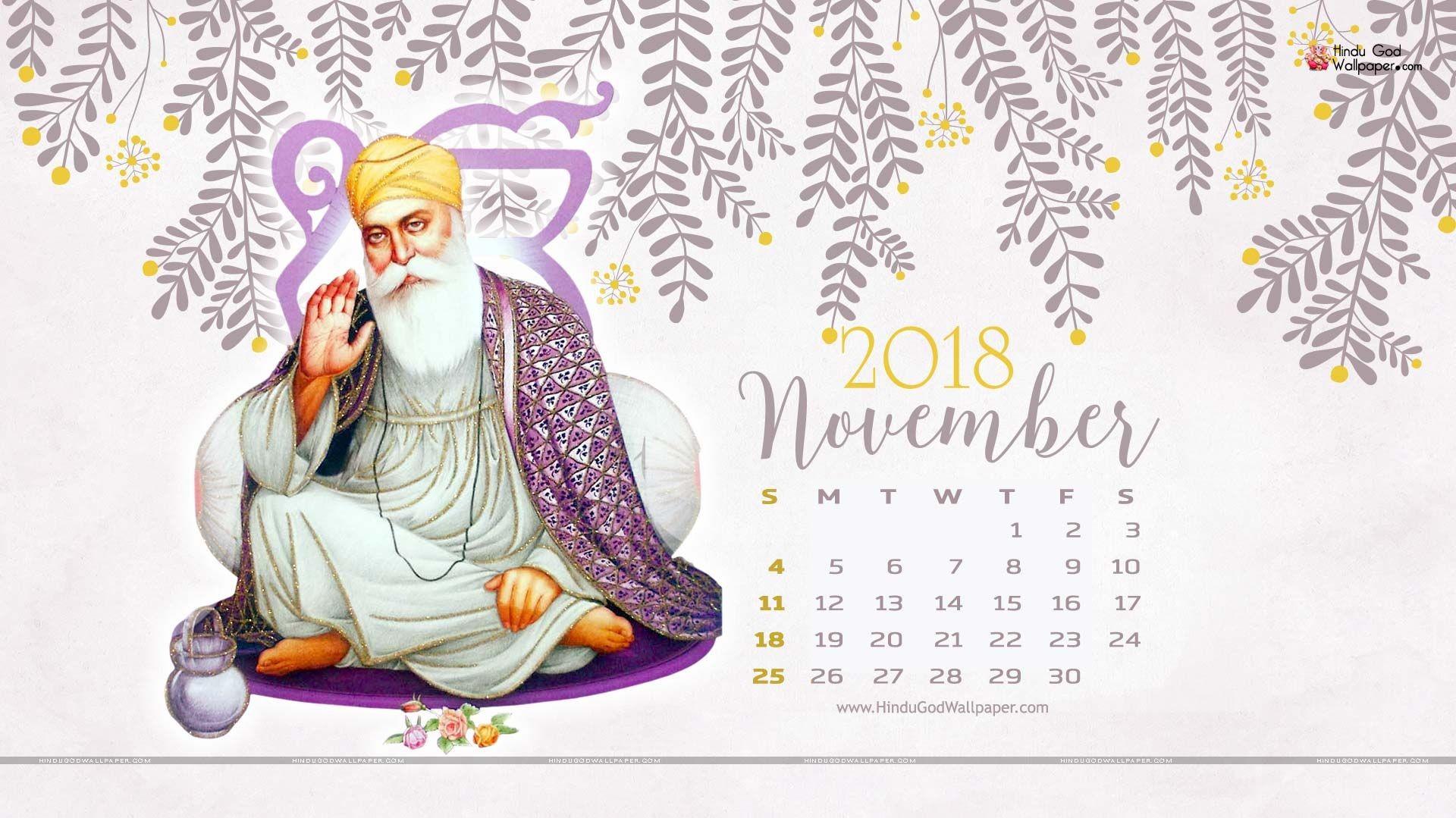 November 2018 Desktop Calendar Wallpaper & HD Background Free Download Desktop Calendars Calendar Wallpaper