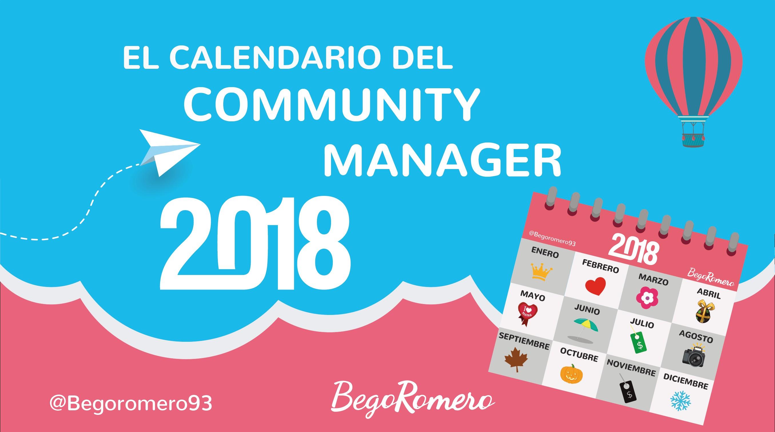 calendario del munity manager with calendarios diseos creativos