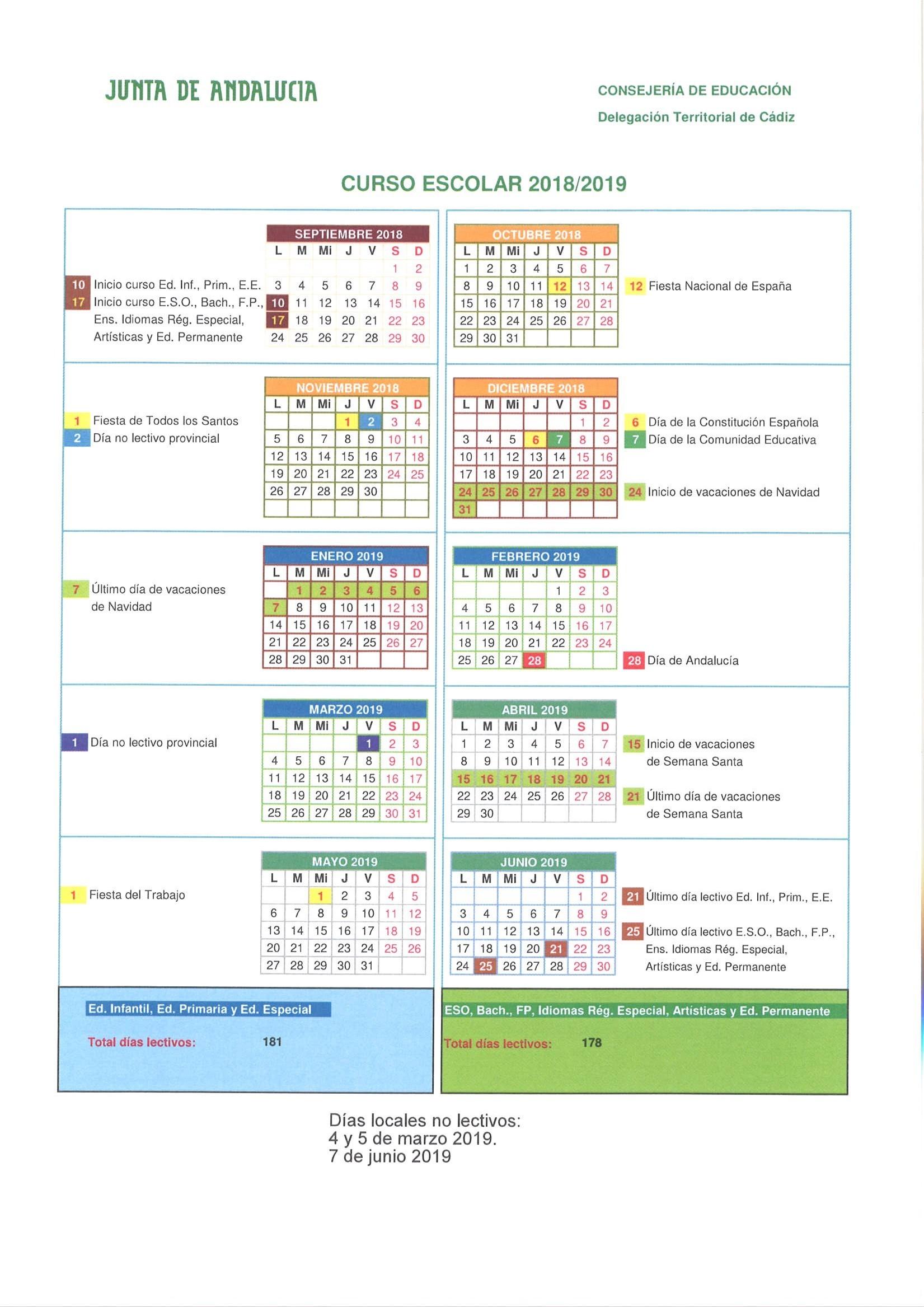 Inicio Calendario Escolar 2019 Mejores Y Más Novedosos Calendario Escolar Of Inicio Calendario Escolar 2019 Más Recientemente Liberado Calendario Escolar 2018 2019 Colegio San Rafael Arcángel Santa