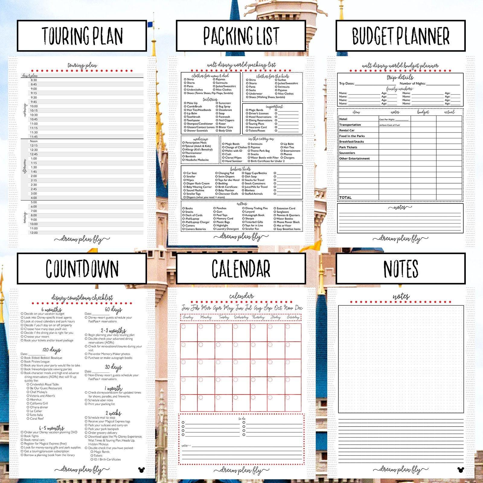 2019 Calendar Planner Book Más Arriba-a-fecha Ultimate Walt Disney World Planner Create Your Own Disney World Of 2019 Calendar Planner Book Más Recientes 5 Star Fice 2019 Year Planner Mounted Landscape with Planner Kit
