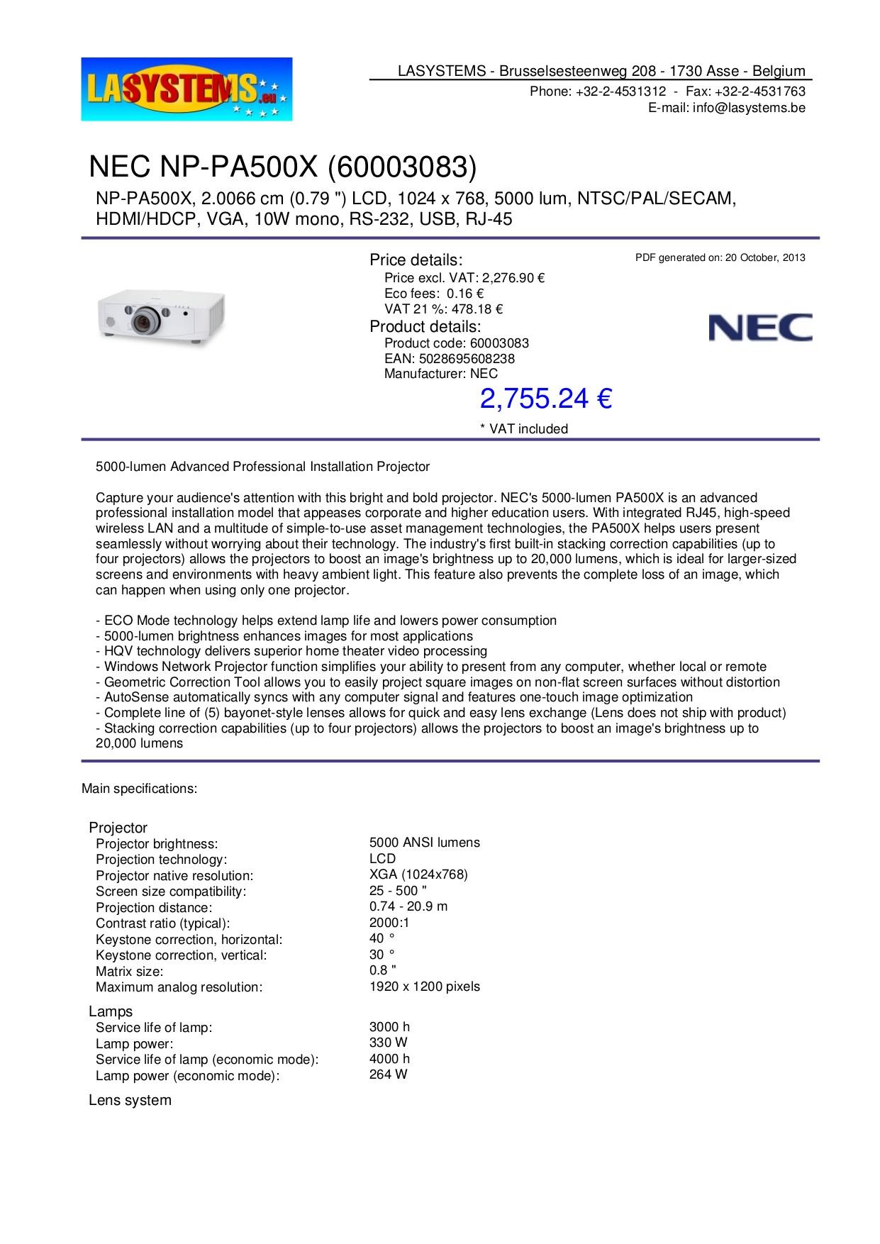 nec m300ws Array free pdf for nec np pa500x projector manual rh umlib