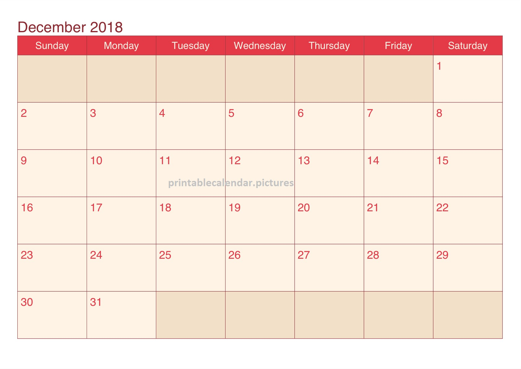 Calendario 2019 Chile Imprimir Más Recientes Printable December 2018 Calendar Colorful Of Calendario 2019 Chile Imprimir Más Recientemente Liberado Observar Calendario Para Imprimir 2019 Pdf