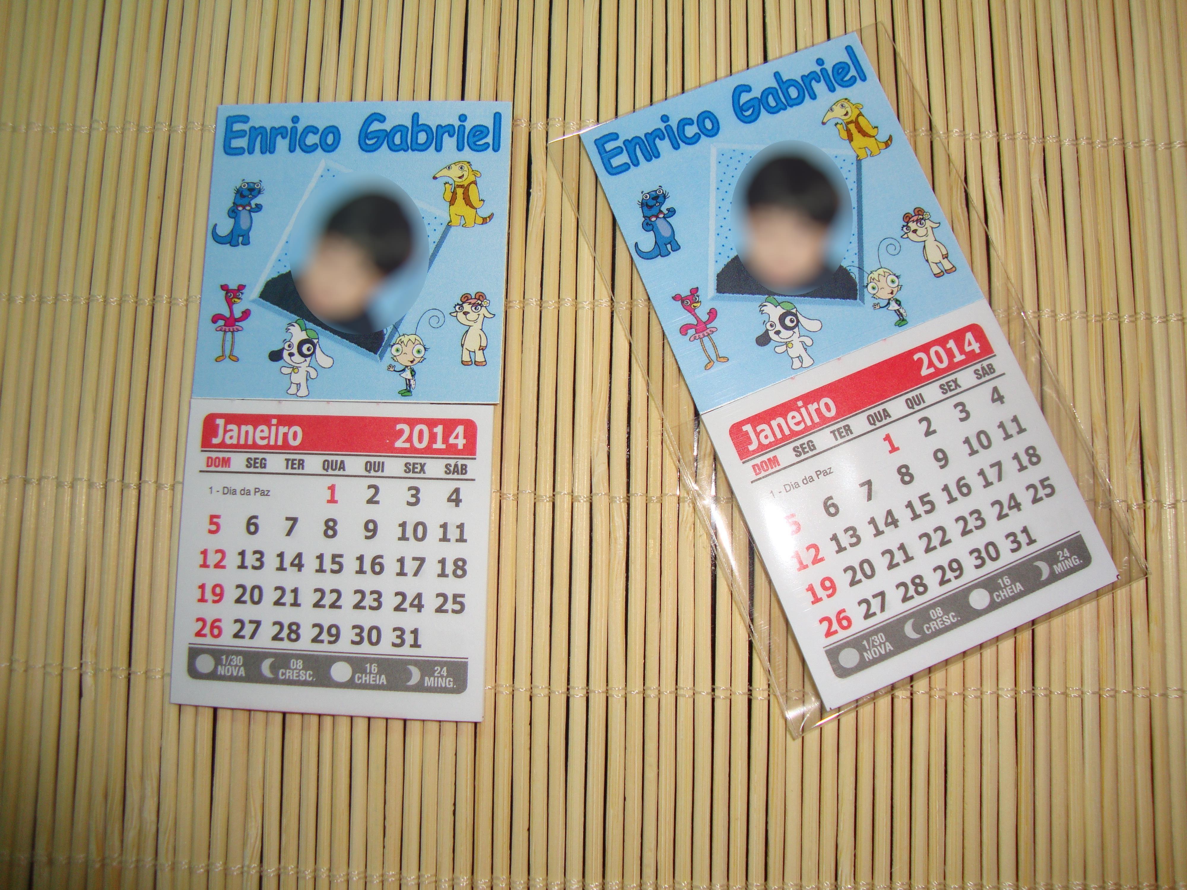mod 288 calendario personalizado ima lembrancinha