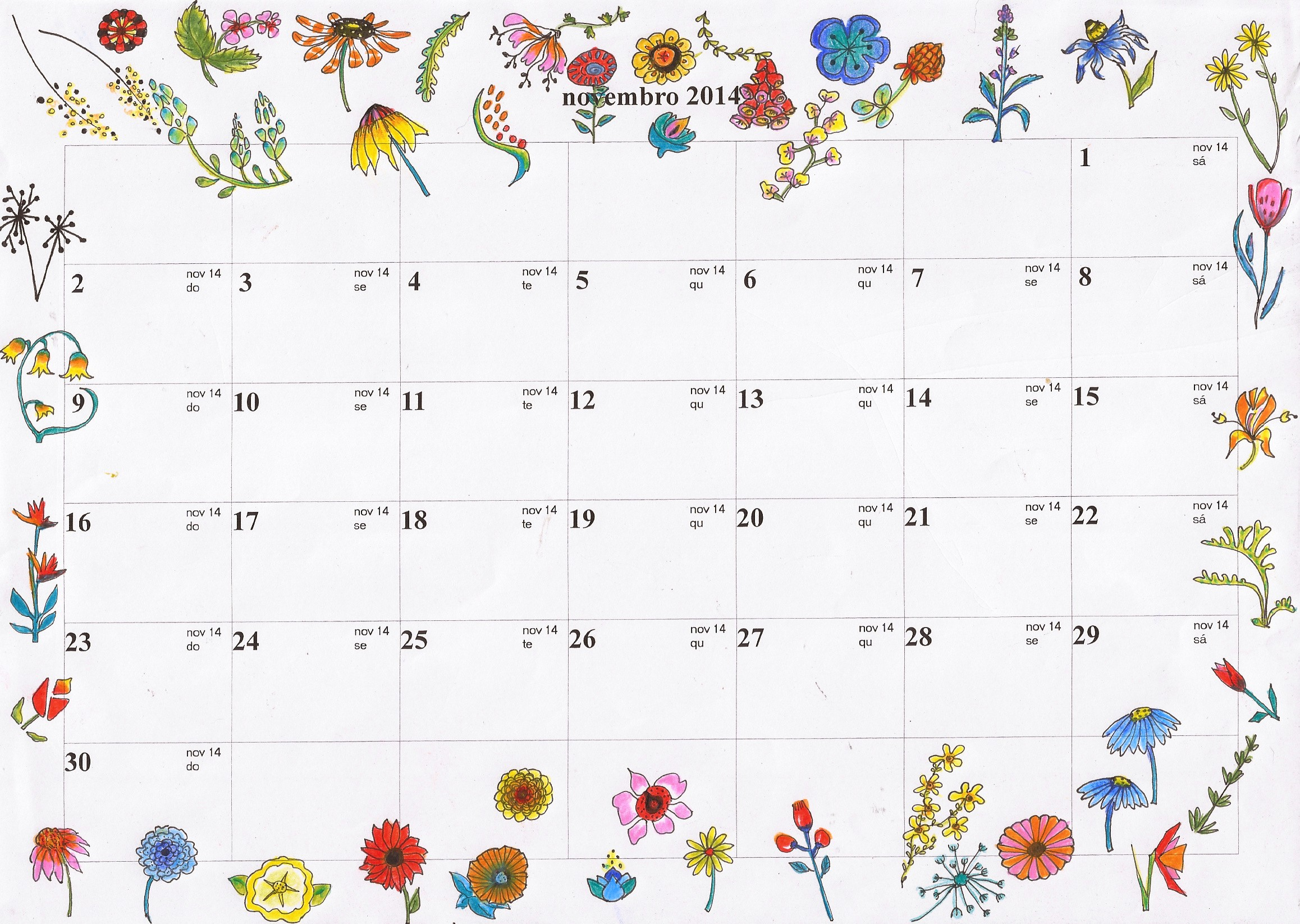 Calendário 2019 Com Feriados Word Mejores Y Más Novedosos Calendario Novembro 2018 Imprimir T Of Calendário 2019 Com Feriados Word Mejores Y Más Novedosos Calendario Octubre 2018 Colombia T