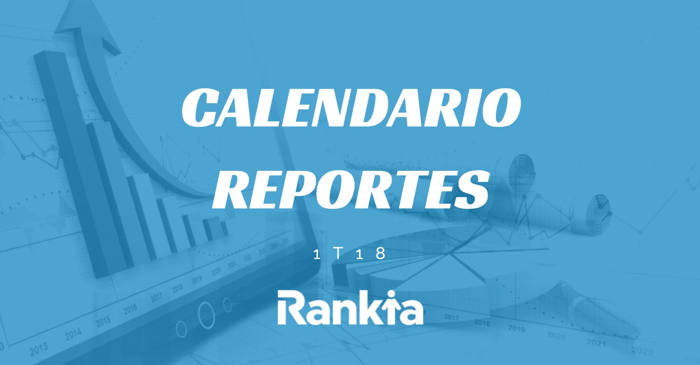 Calendario de reportes trimestrales en la Bolsa Mexicana de Valores