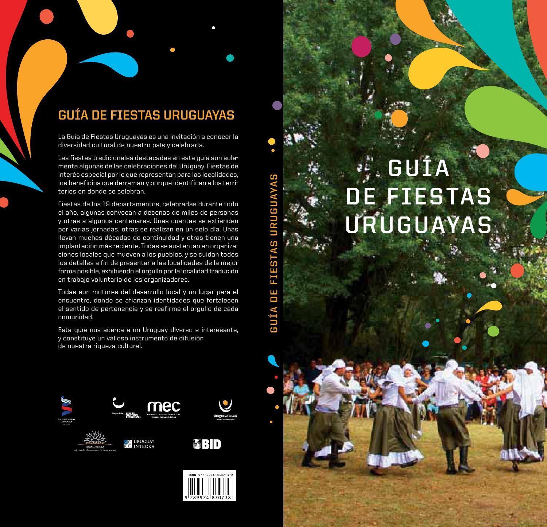 Gua de fiestas tradicionales by Uruguay Natural issuu