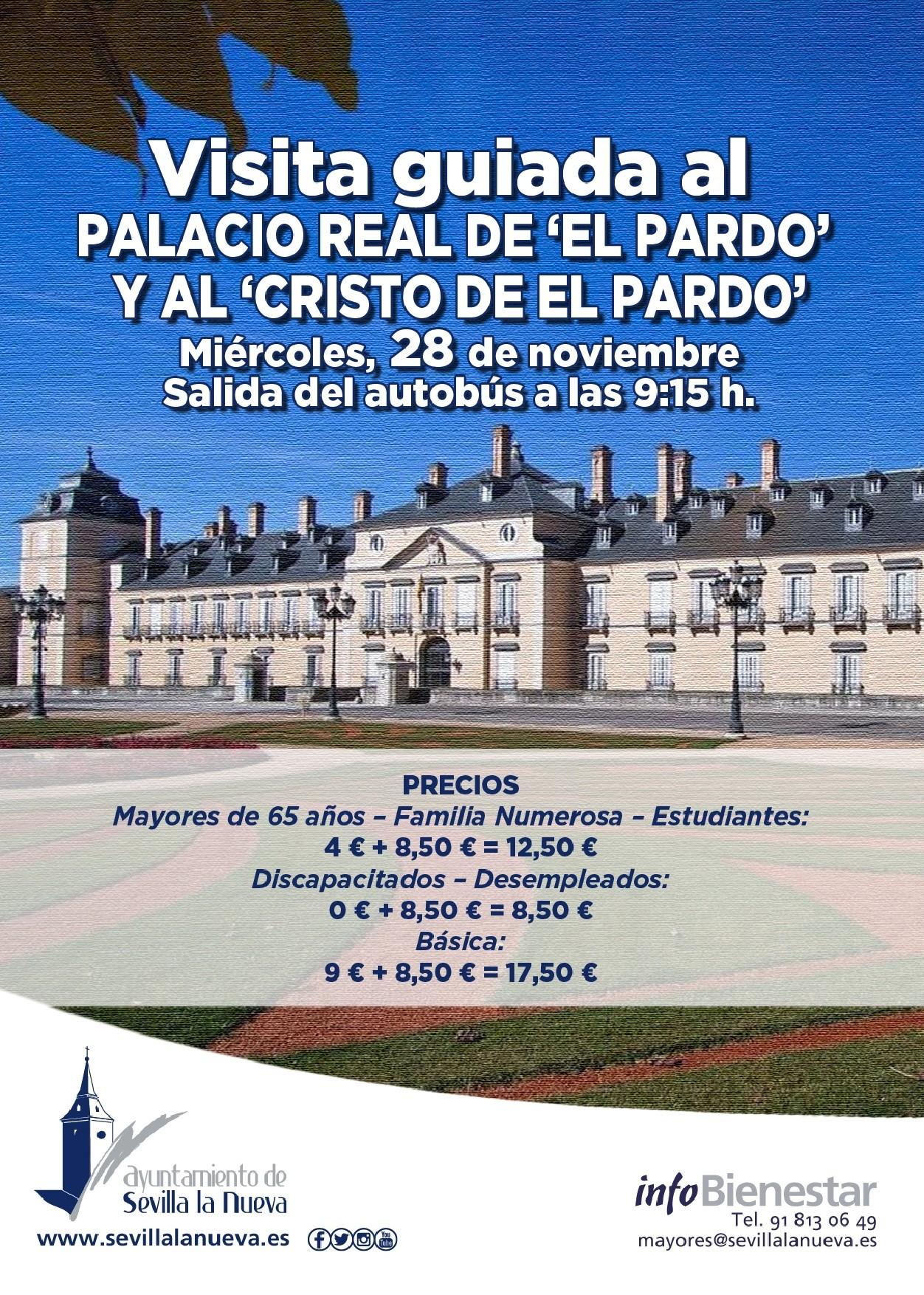 Visita guiada Palacio de El Pardo Palacio de El Pardo