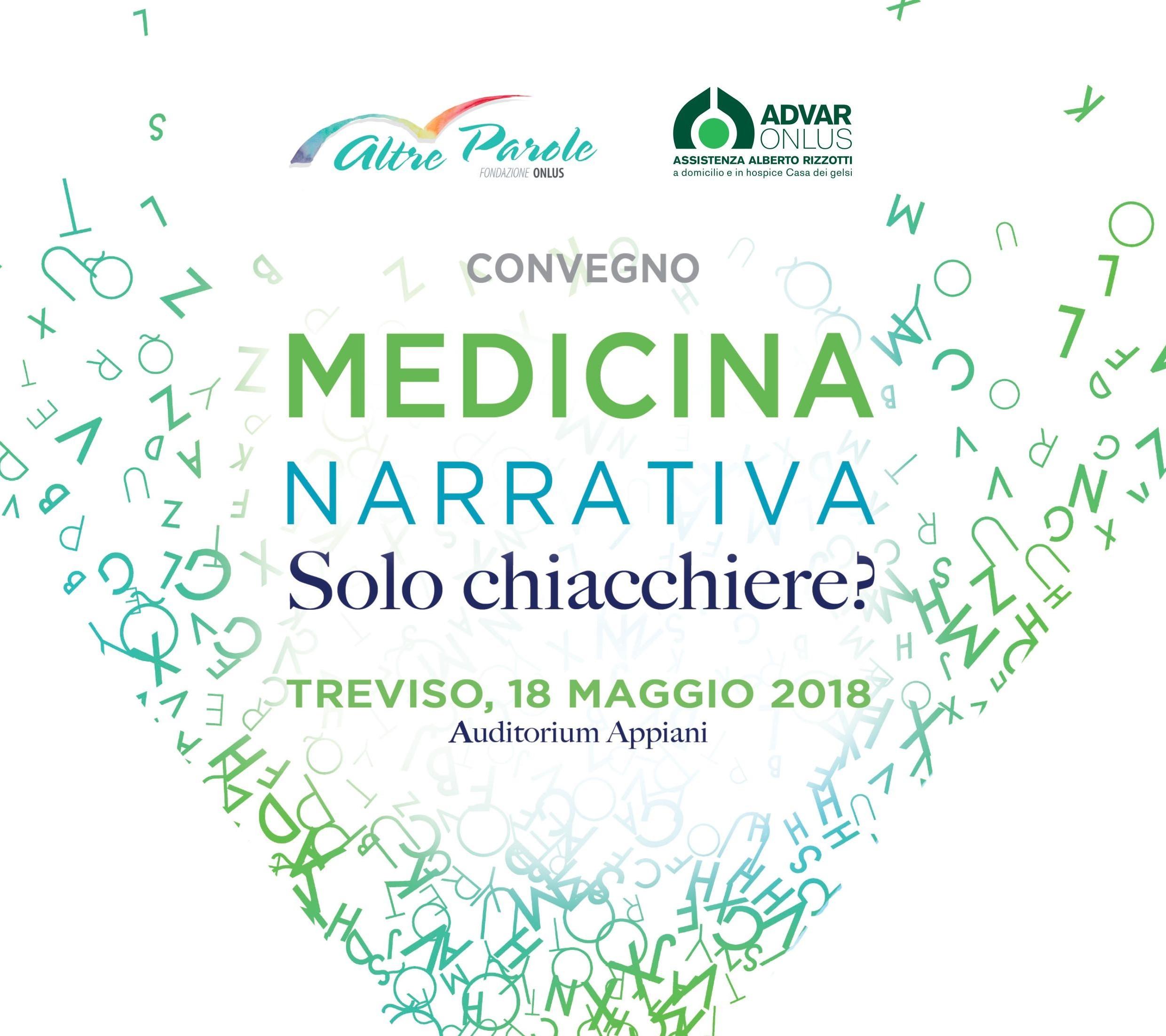 MEDICINA NARRATIVA SOLO CHIACCHERE Fondazione Altre Parole lus