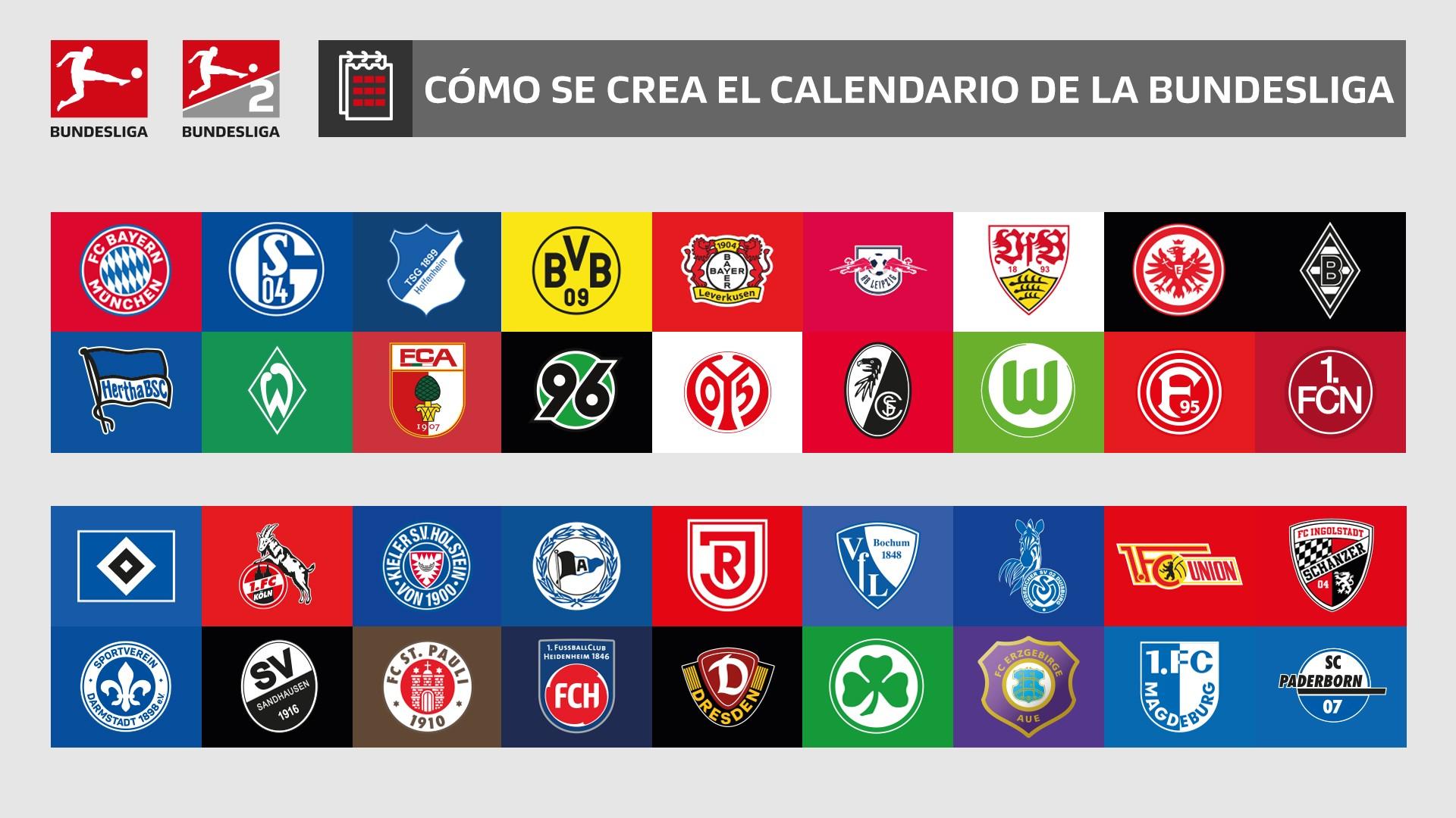 As se prepara el calendario de partidos de la Bundesliga