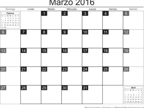Calendario Bonito Imprimir 2017 Mejores Y Más Novedosos Best Calendario De Marzo 2016 Para Imprimir Image Collection