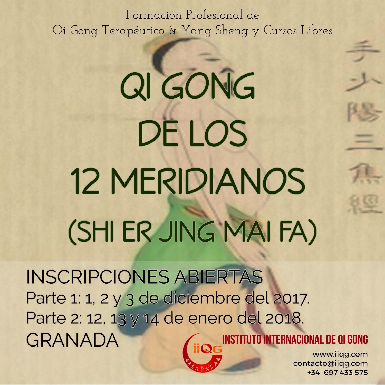 Seminario Qi Gong de los 12 Meridianos Shi Er Jing Mai Fa