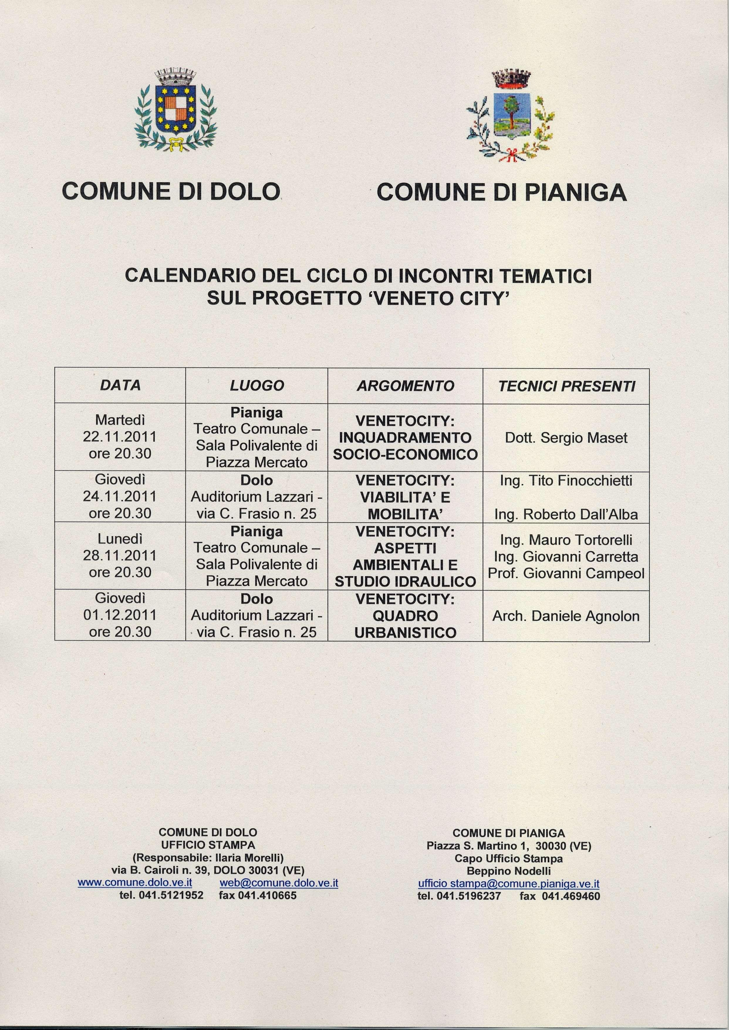 Calendario Gennaio 2019 Da Stampare Más Arriba-a-fecha Unicato Stampa Dei Uni Di Dolo E Pianiga Promosso Dalle Due