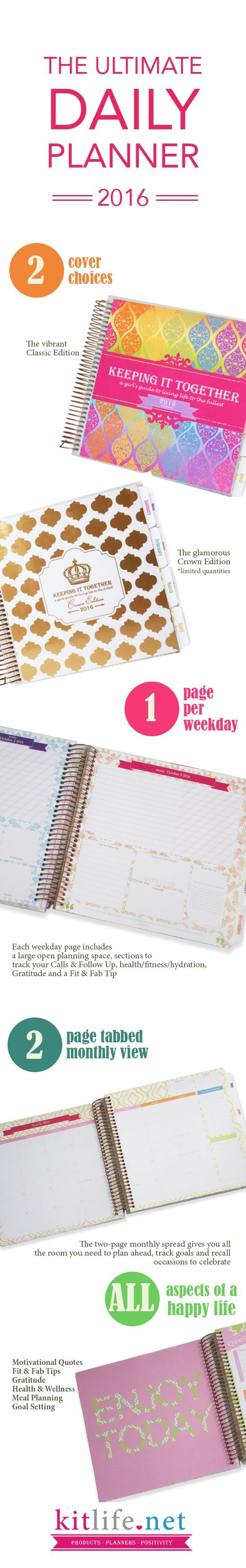 The BEST daily planner from kitlife