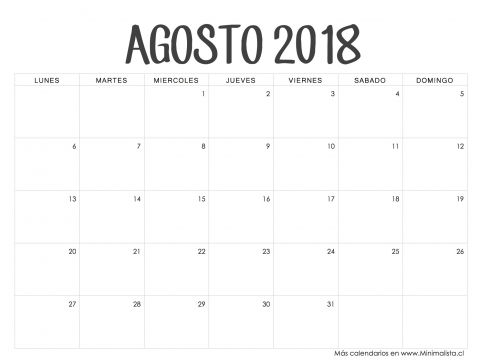 Calendario Junio 2019 Con Festivos Colombia Más Caliente Calendario Agosto 2018 Desk Ideas Pinterest