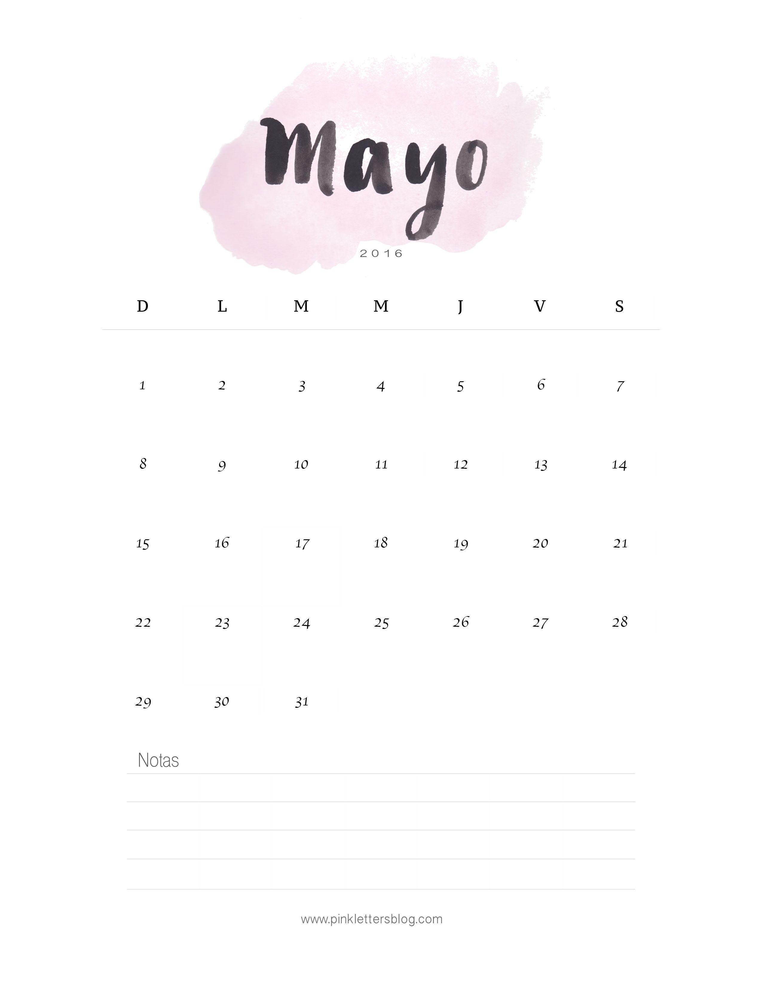 awesome calendario mayo imprimible free may calendar with calendario pinterest