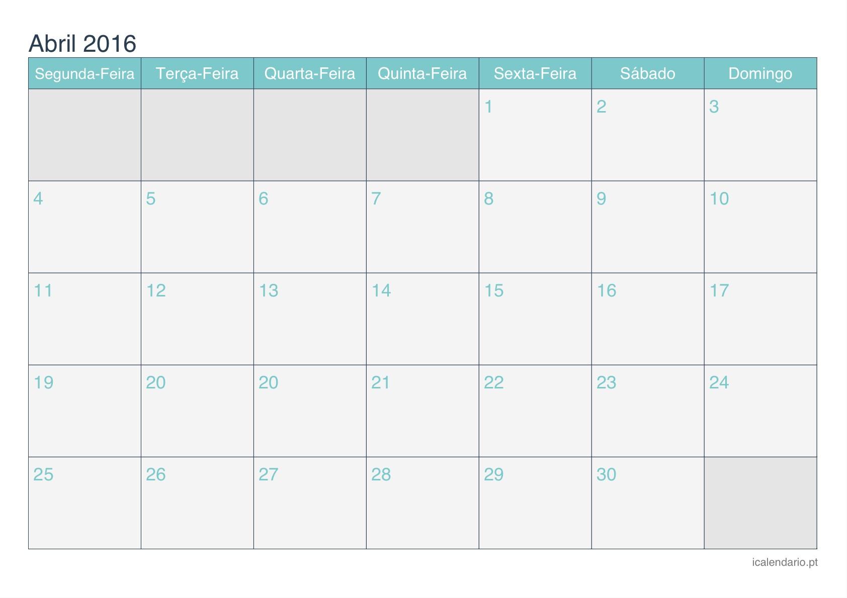 Calendario Enero 2016 Icalendario