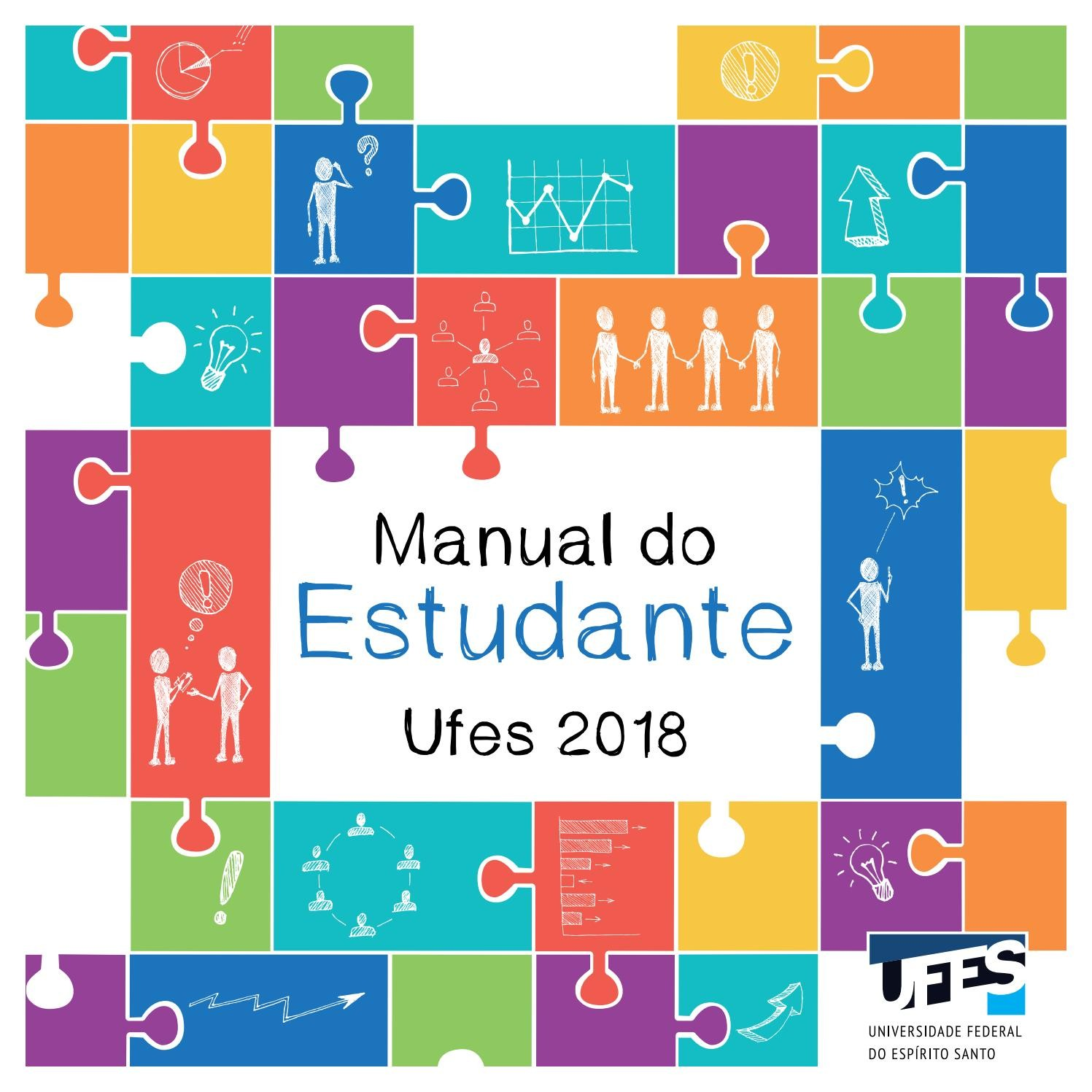 Manual do estudante 2018 by Universidade Federal do Esprito Santo
