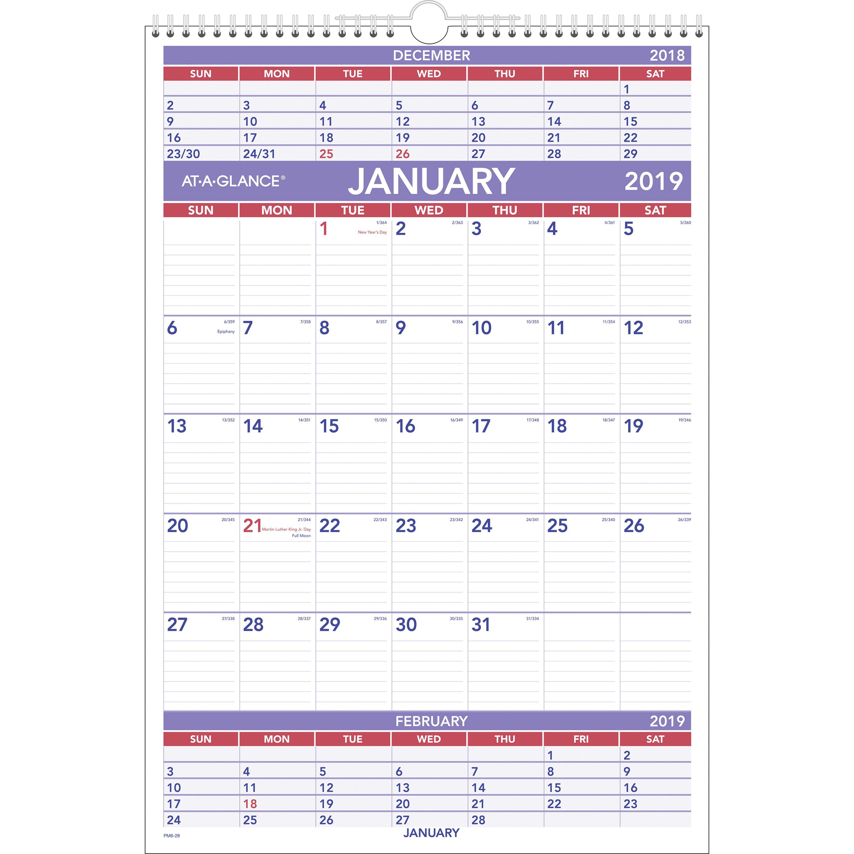 Calendario Wta 2019 Recientes Hanging Wall Calendar at A Glance Paper Yearly Wall Of Calendario Wta 2019 Más Arriba-a-fecha Hojaconrayasparaimprimir Trabajos 1 T