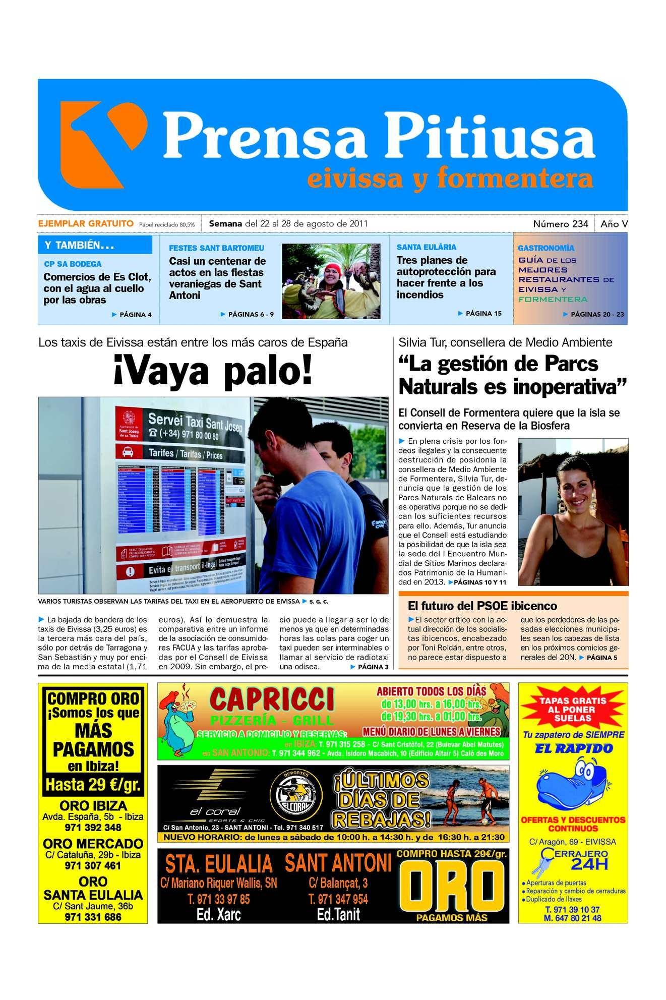 Imprimir Calendario Hotmail Recientes Calaméo Prensa Pitiusa Edici³n 234