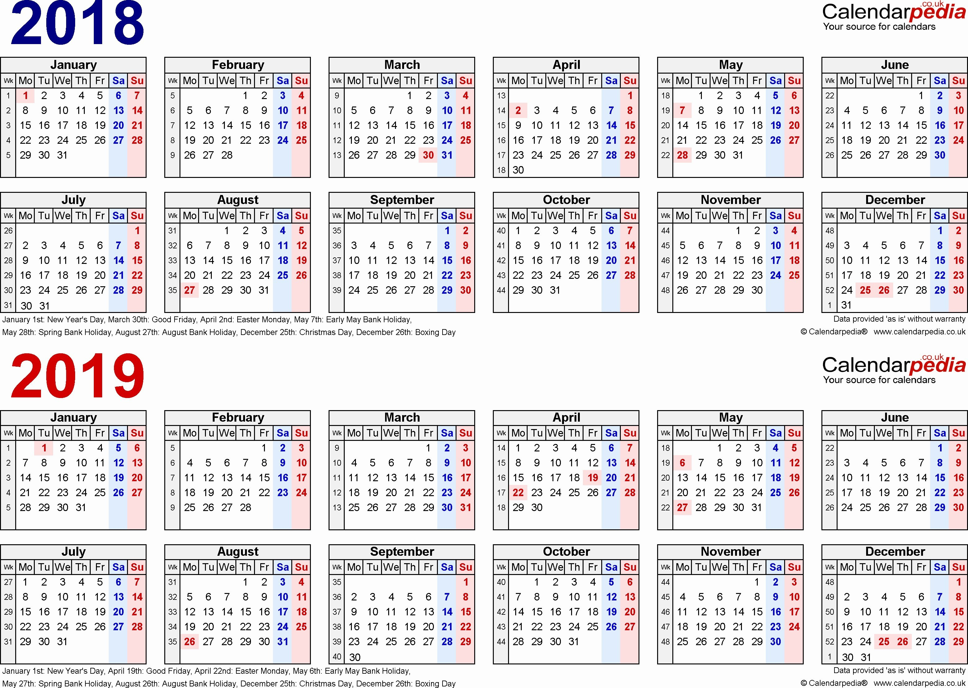 The Right Situation An Calendar 2019 Printable with School Holidays 2017 and 2018 Calendar Printable