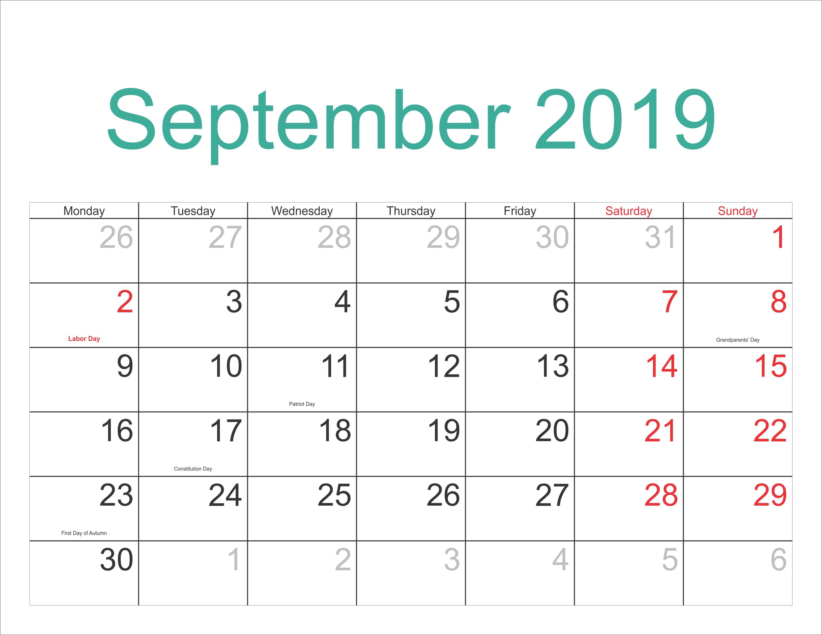 September 2019 Pdf