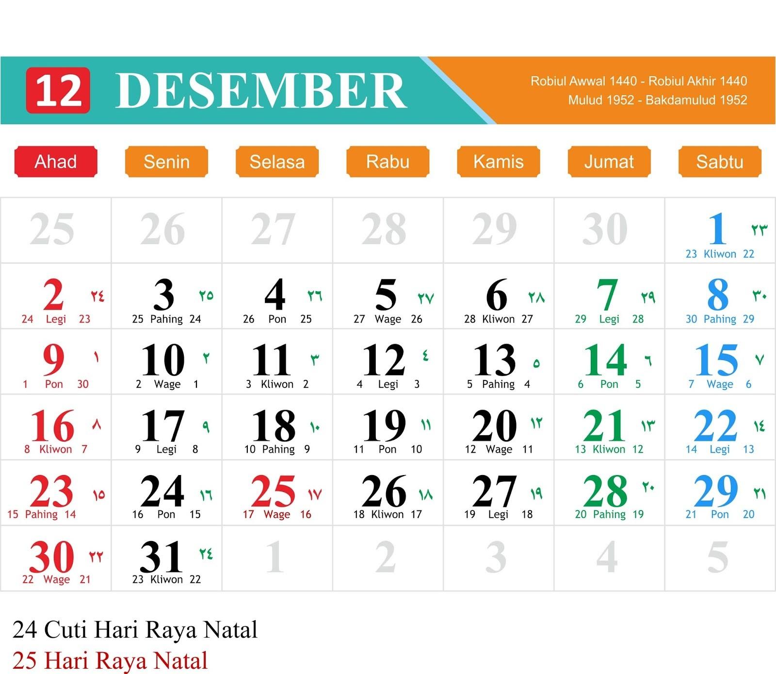 Kalender Masehi 2019 Pdf Más Populares Kalender 2019 Ruwah