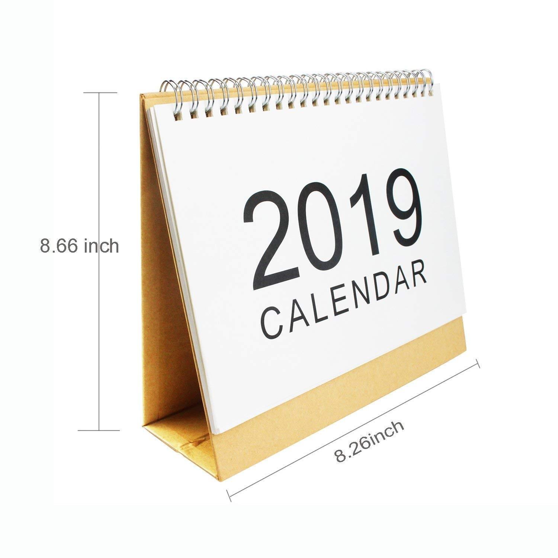 Online Calendar Planner 2019 Más Populares Amazon Weimeet September 2018 to December 2019 Stand Up Desk