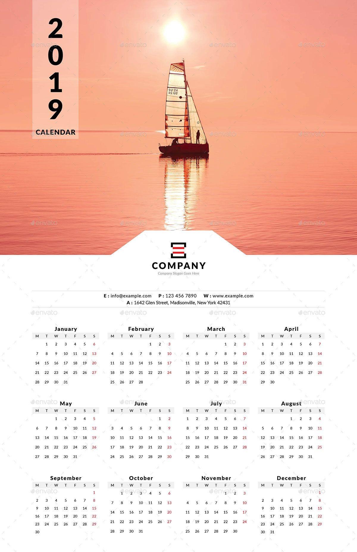 2019 Calendar Download Uk Más Reciente 2019 E Page Wall Calendar Page Calendar Wall