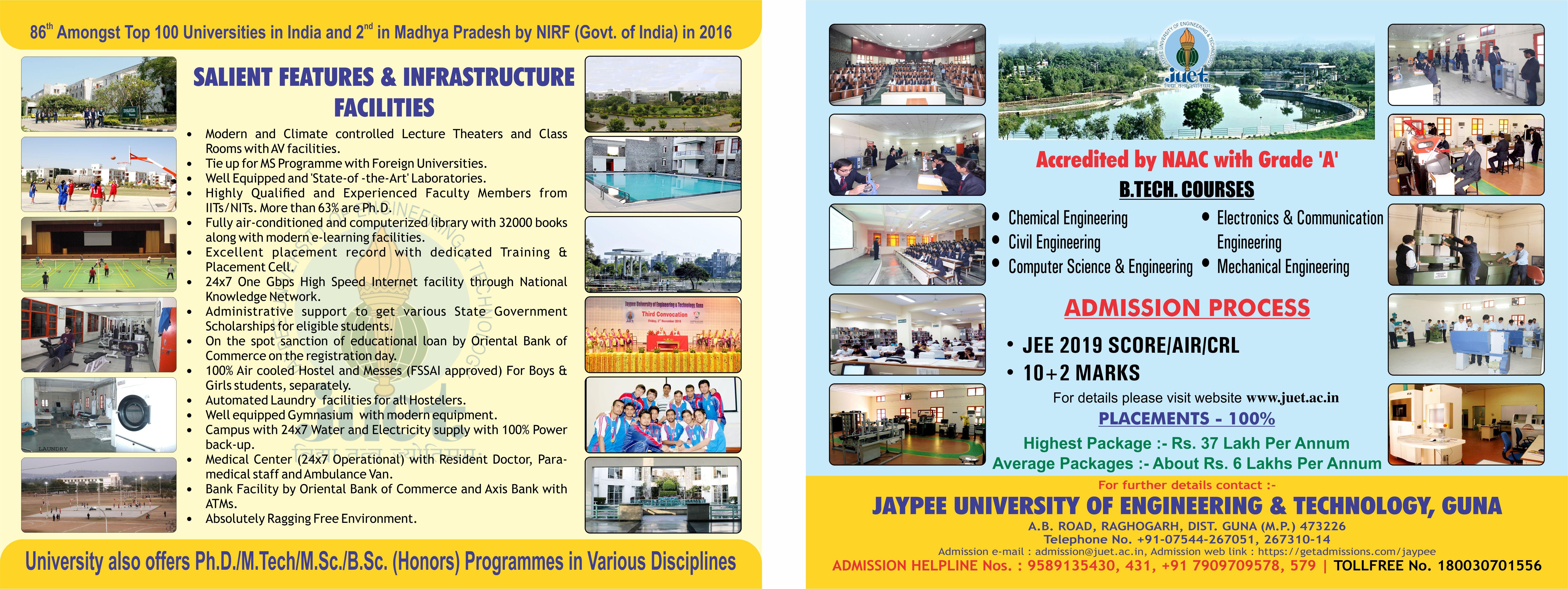 Admission 2019 Leaflet