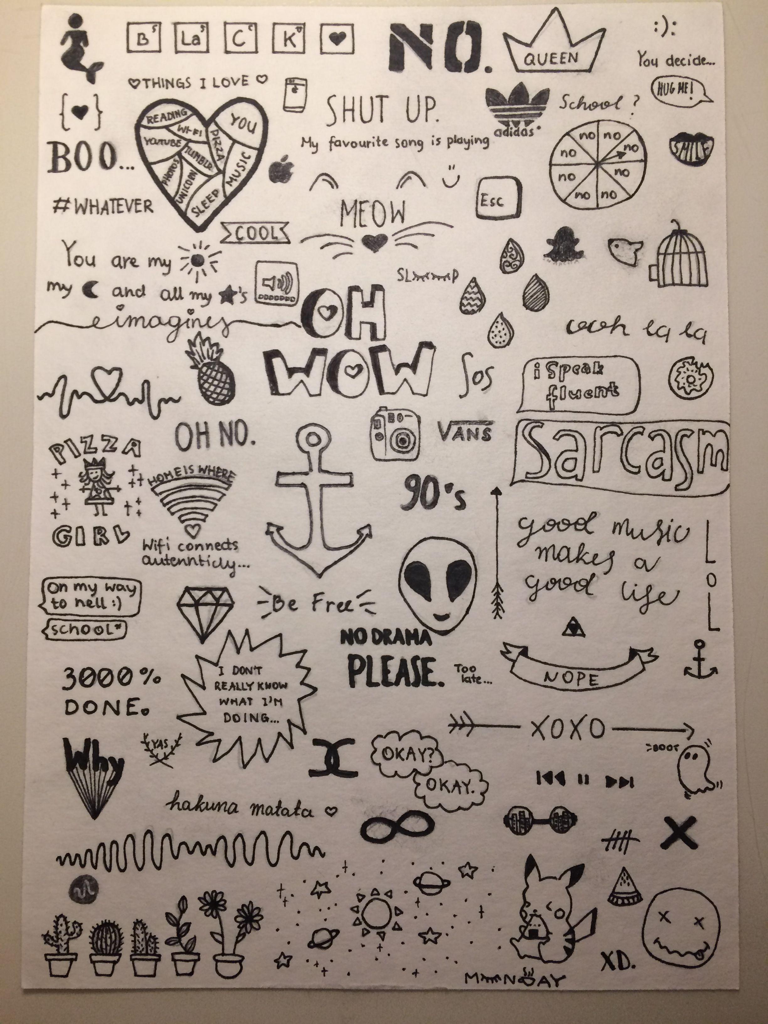 Tumblr doodles ✏️
