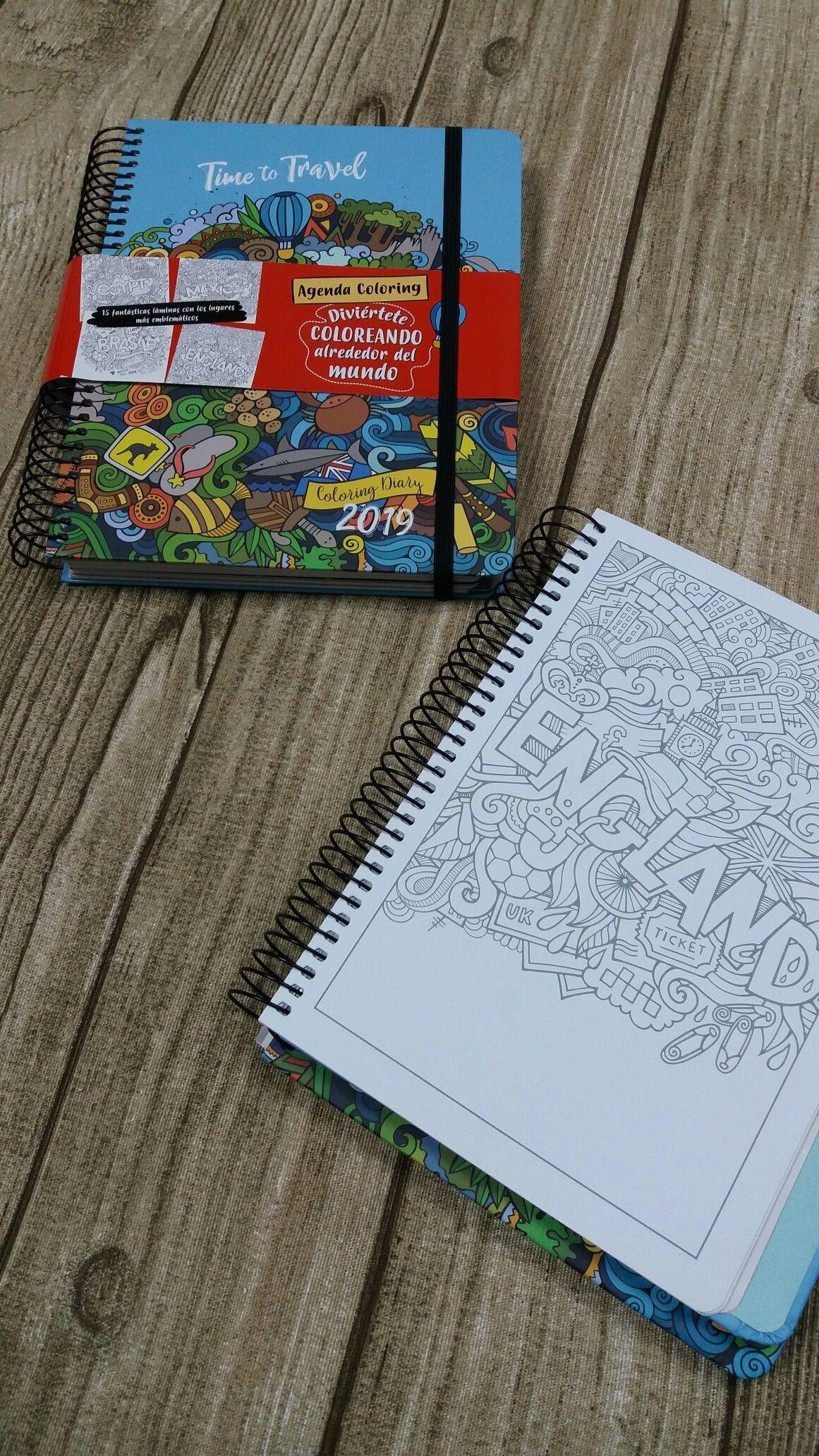 """dohe dohesa agendas2019 agendacitycoloring Hoy presentamos la agenda """"City Coloring"""""""