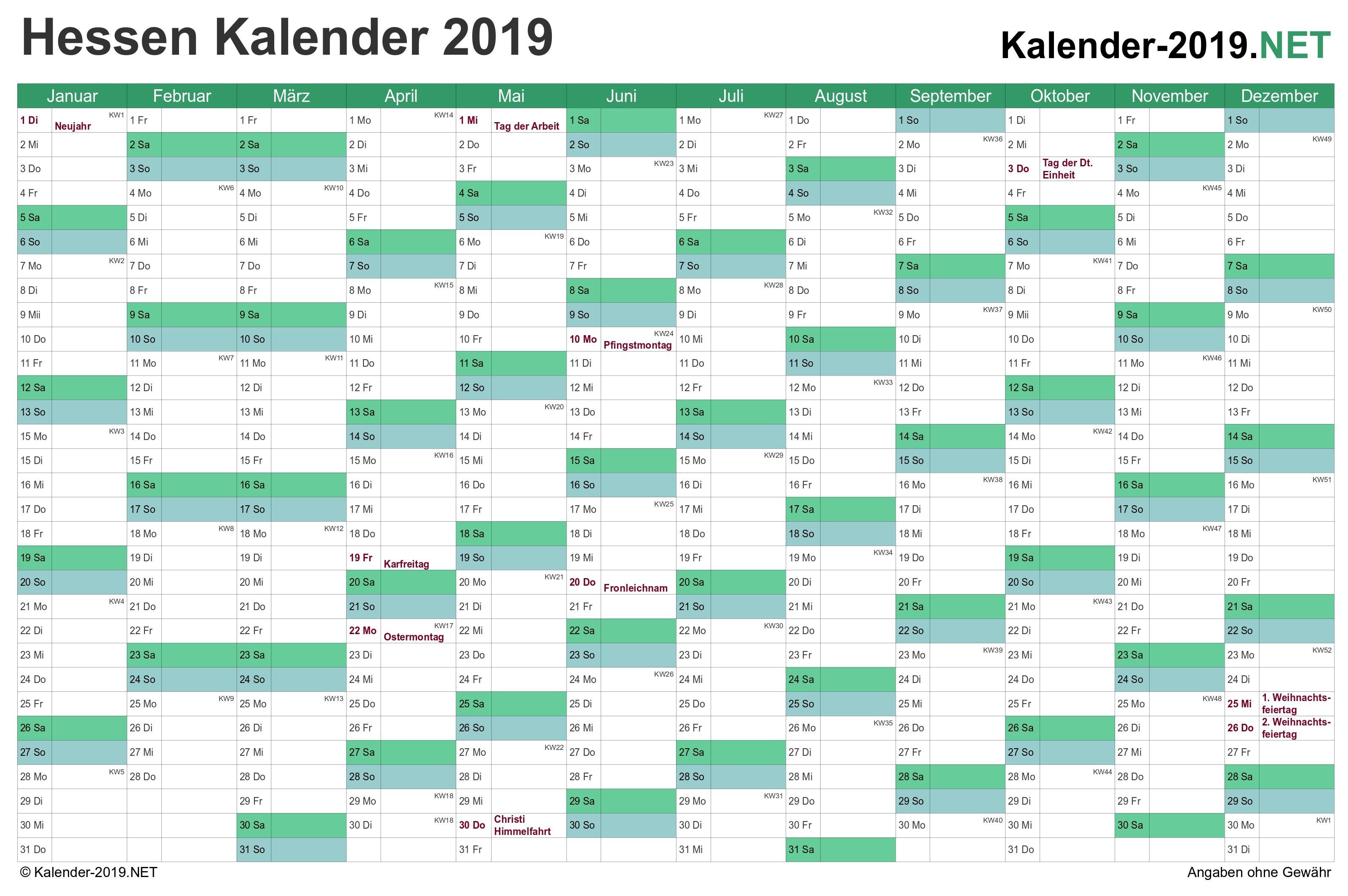 kalender 2015 niedersachsen excel