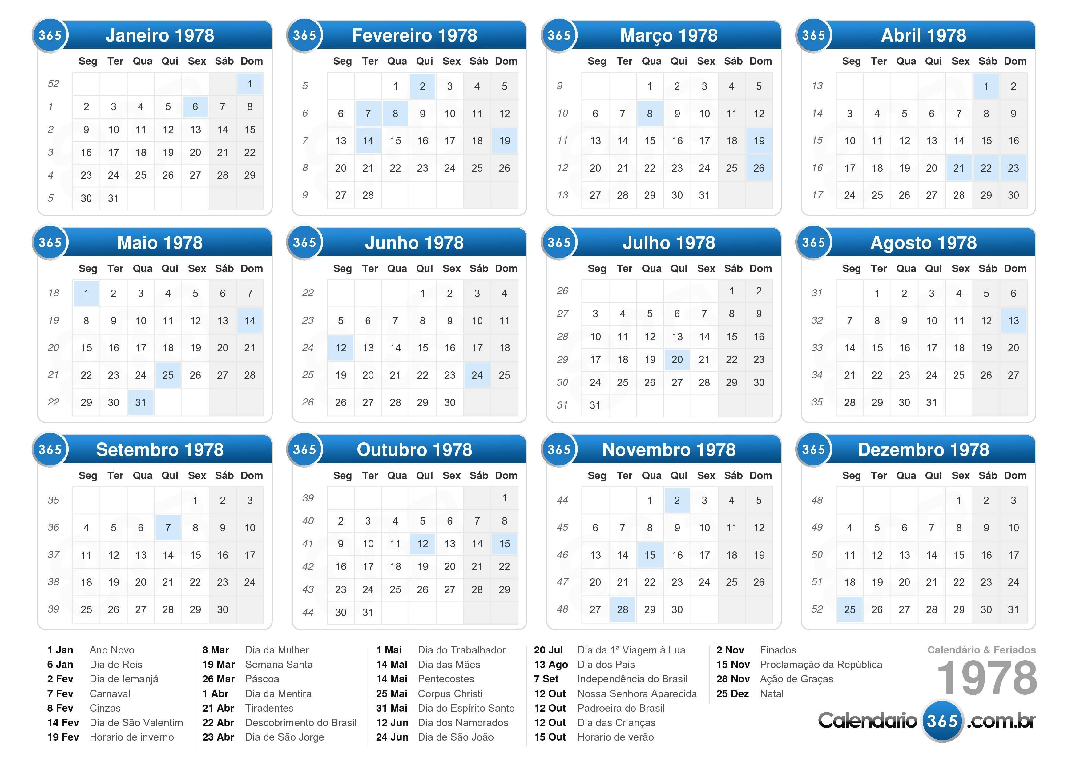 Calendários para novembro 2017 para imprimir