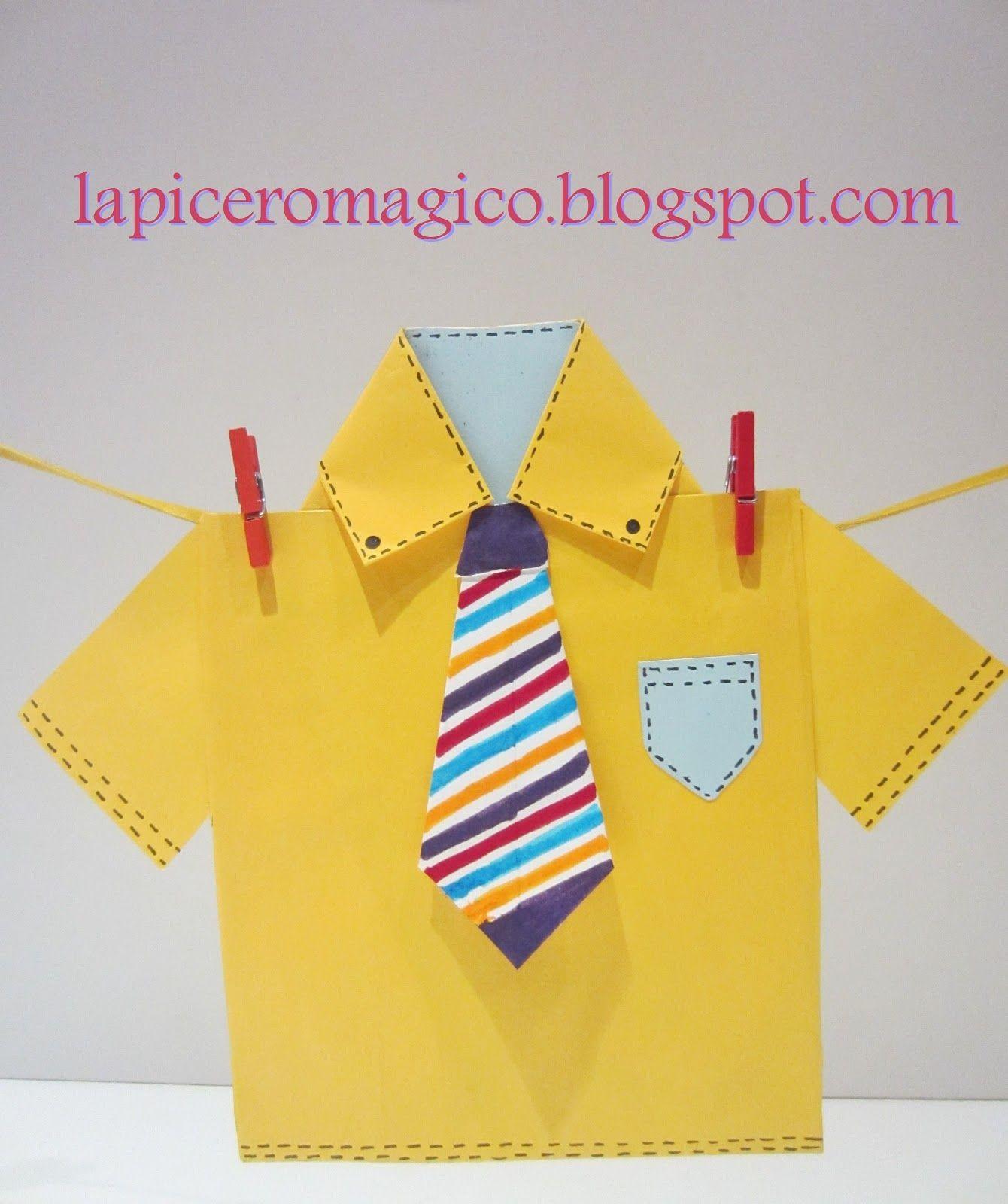 LAPICERO MGICO Tarjeta camisa