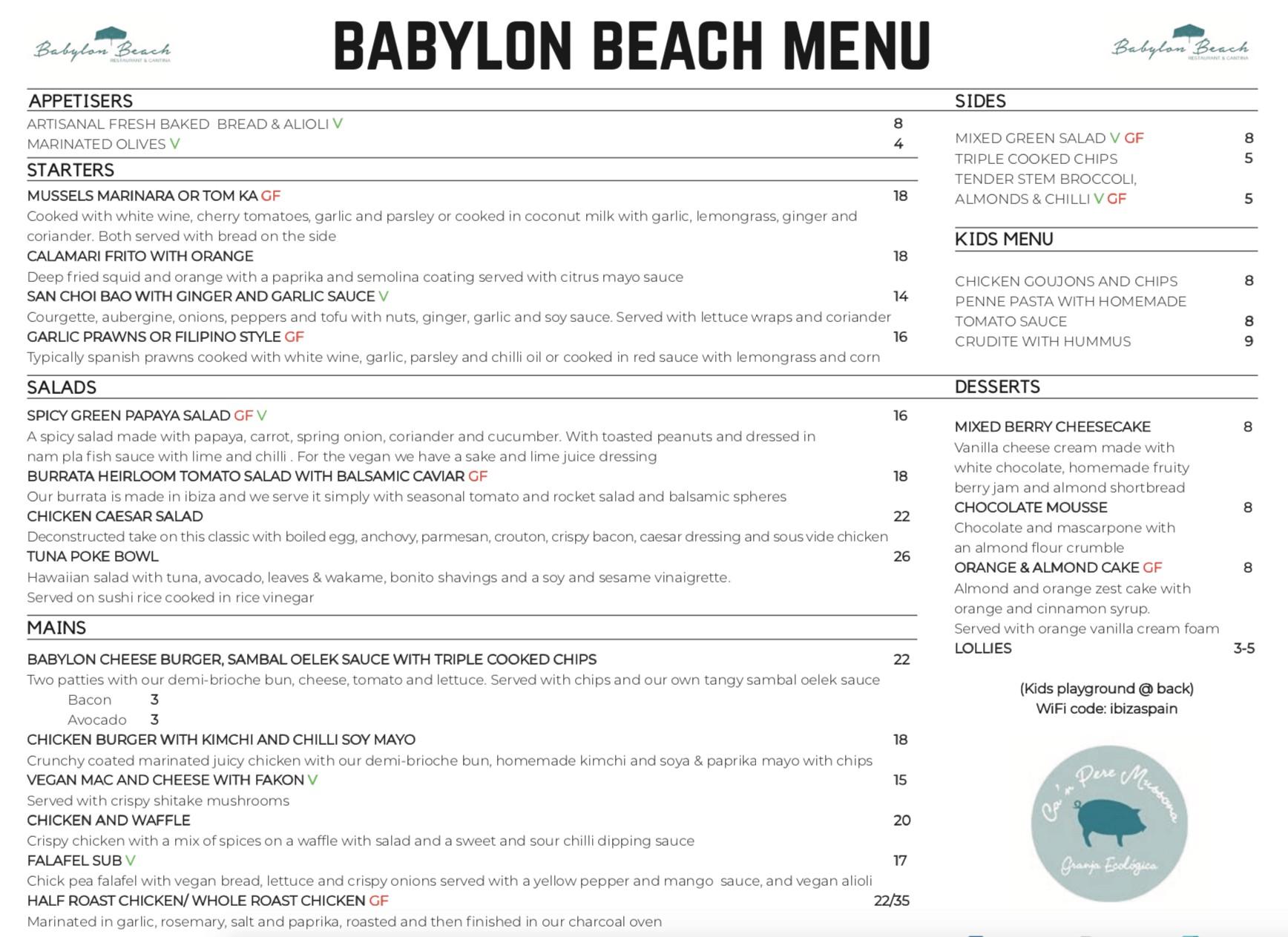 Babylon Beach Ibiza Santa Eulalia