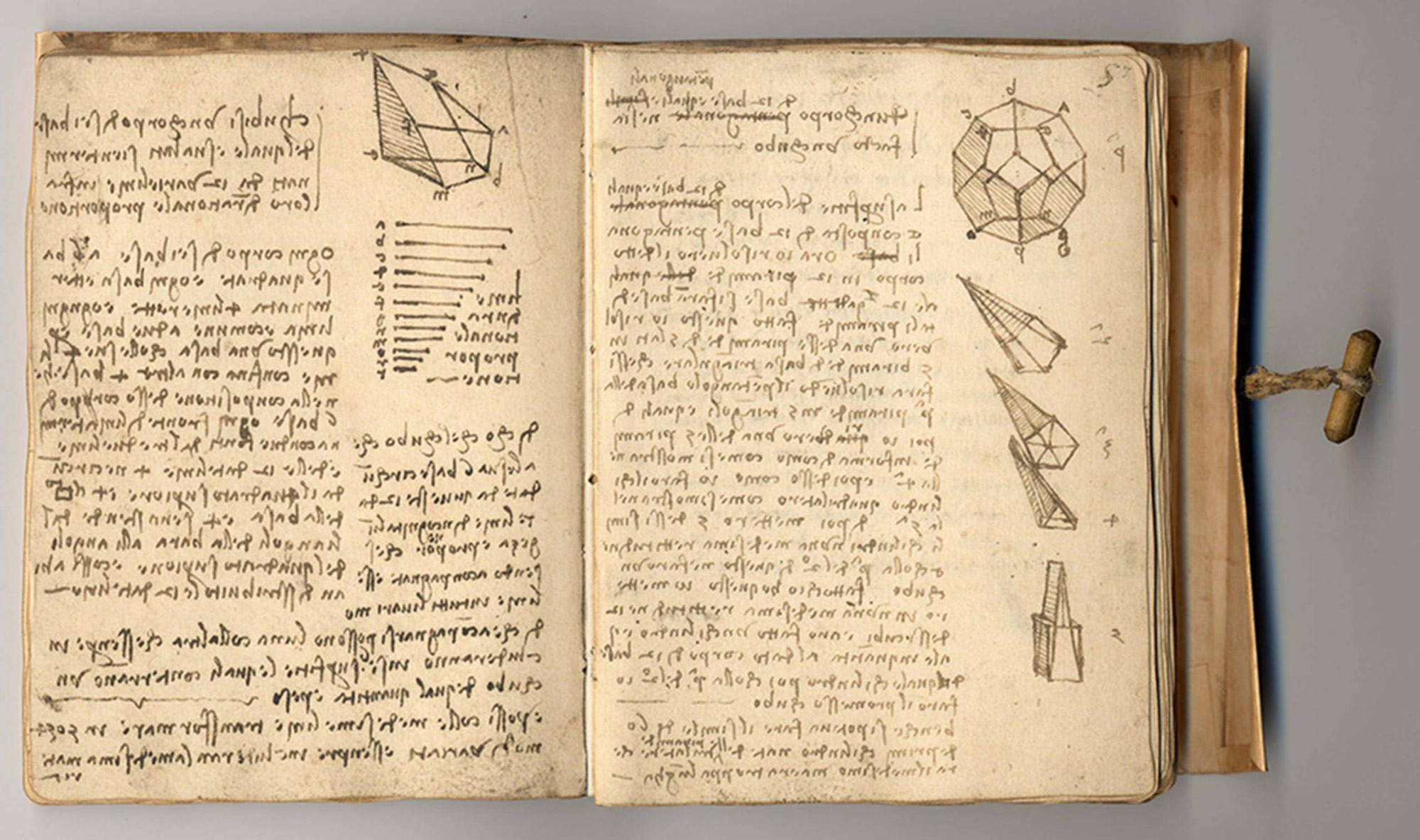 Codex Forster II Leonardo da Vinci late 15th early 16th century Italy