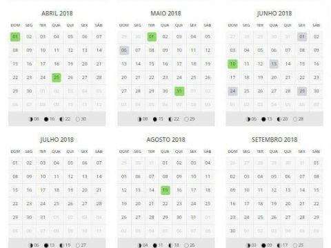 """Calendário 2019 Com Feriados Angola Actual Já Viu Que """"pontes"""" Pode Aproveitar Em 2018"""